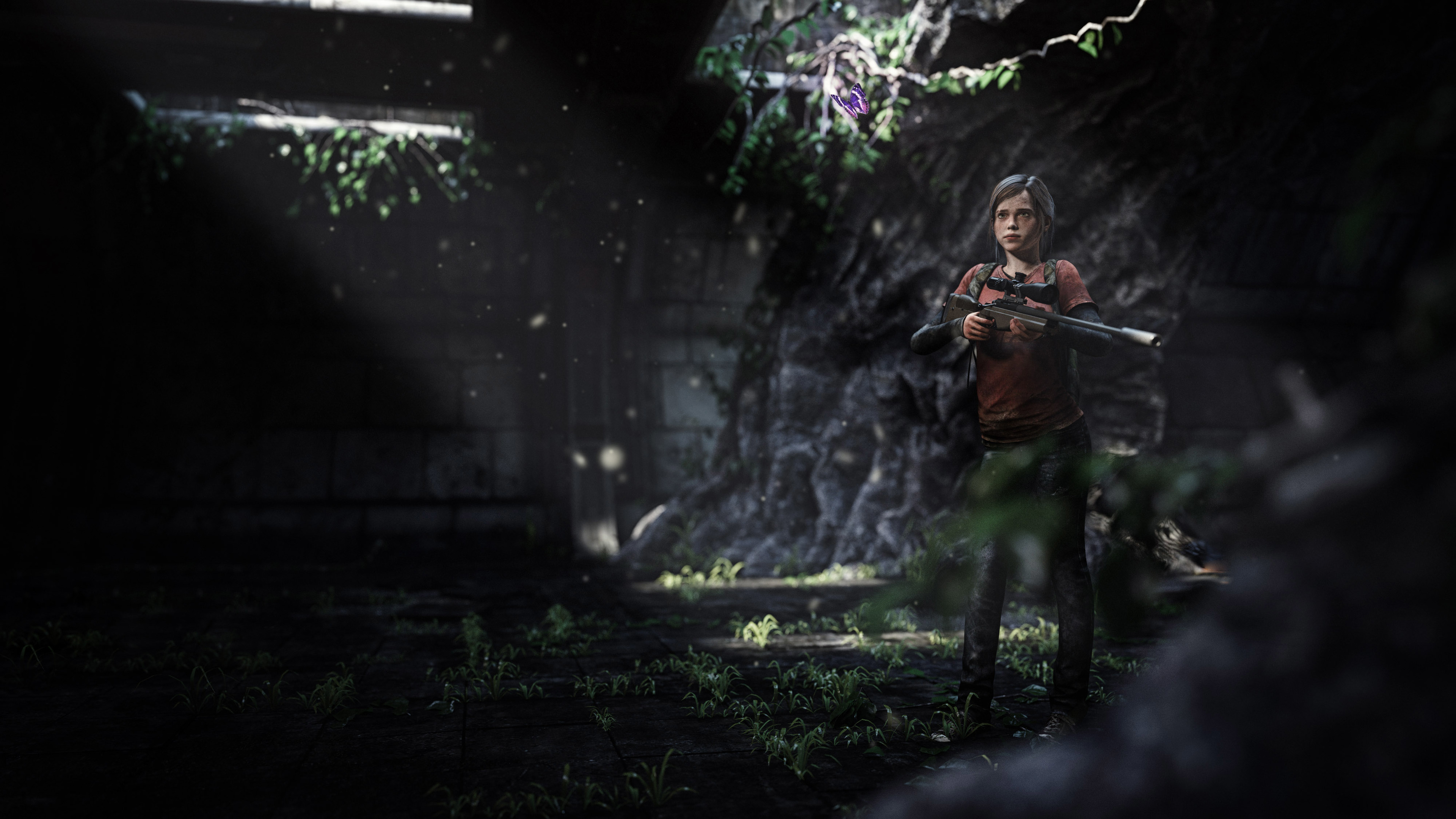 Wallpaper 4k Elle The Last Of Us 3d Art 3d Wallpapers 4k