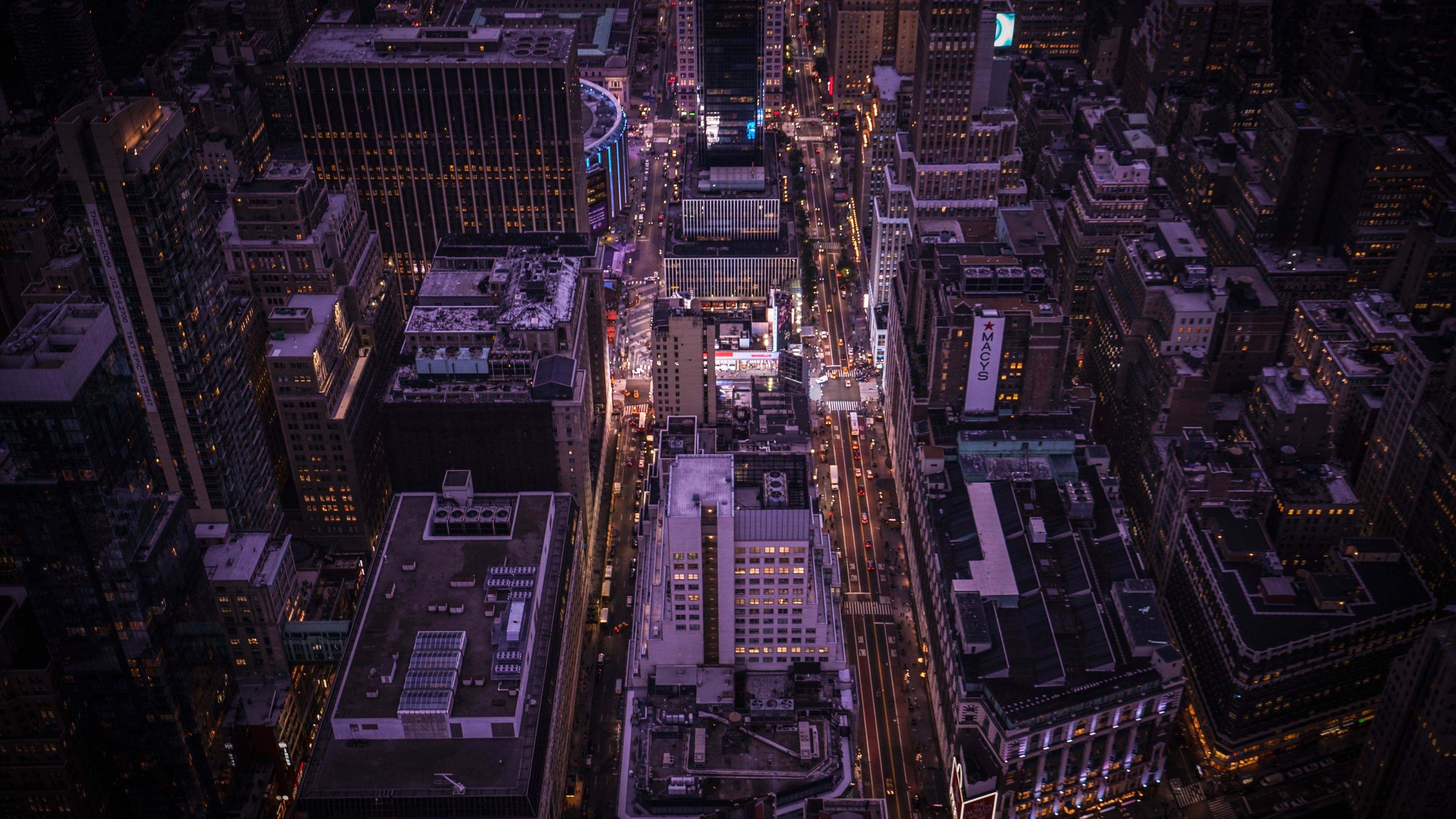 empire state building top view 8k 1540756879 - Empire State Building Top View 8k - world wallpapers, photography wallpapers, new york wallpapers, hd-wallpapers, empire state building wallpapers, 8k wallpapers, 4k-wallpapers