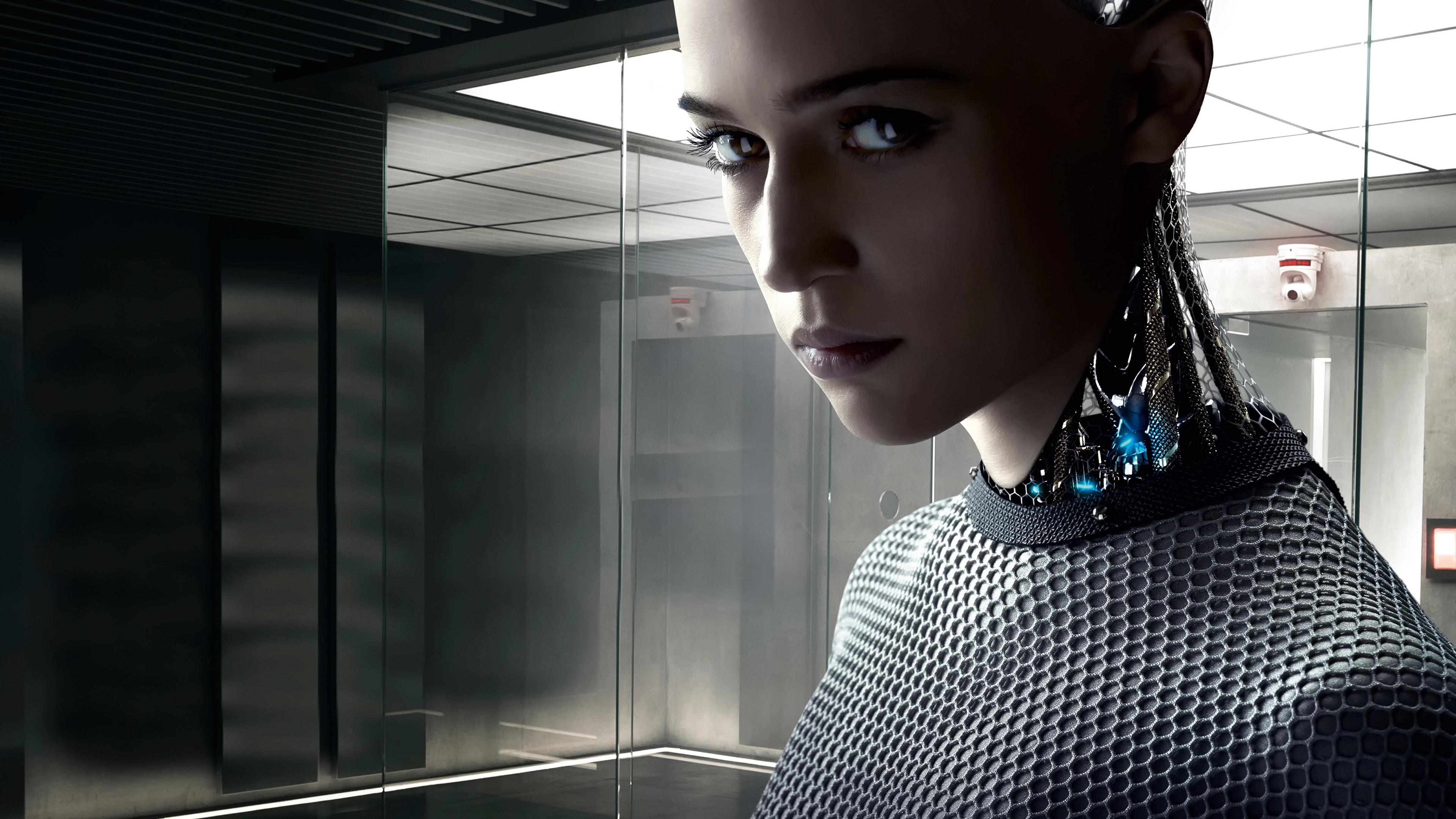 ex machina donal gleeson robot 2015 4k 1539368179 - ex machina, donal gleeson, robot, 2015 4k - Robot, ex machina, donal gleeson