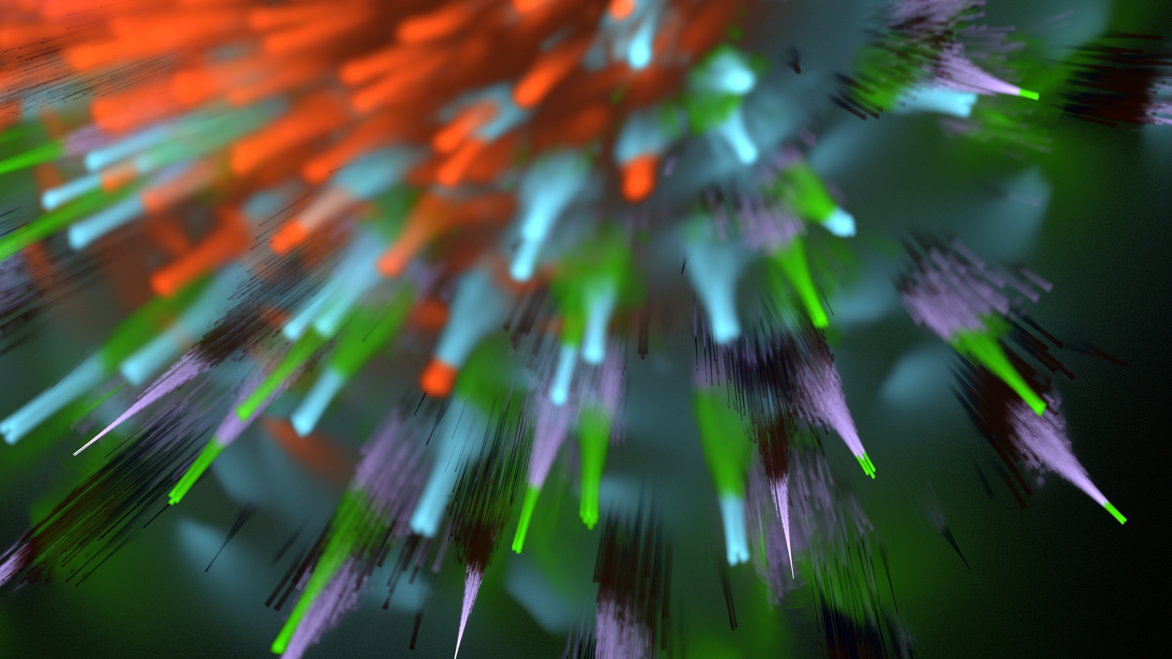 explosion rays fractal colorful 4k 1539369688 - explosion, rays, fractal, colorful 4k - Rays, Fractal, Explosion