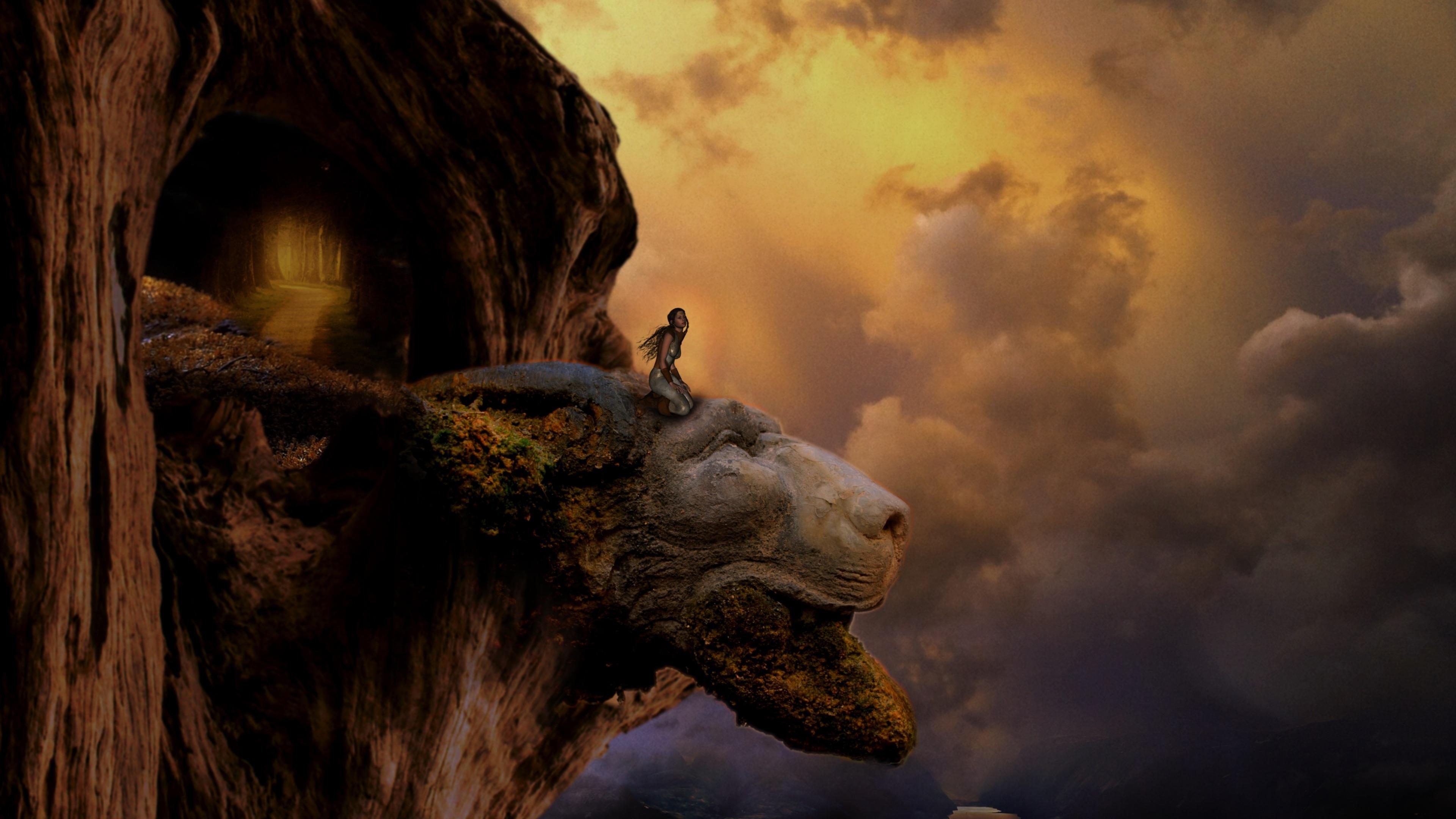 fantasy lion head artistic top view mountains 1540754361 - Fantasy Lion Head Artistic Top View Mountains - hd-wallpapers, fantasy wallpapers, dreamy wallpapers, artist wallpapers, 4k-wallpapers