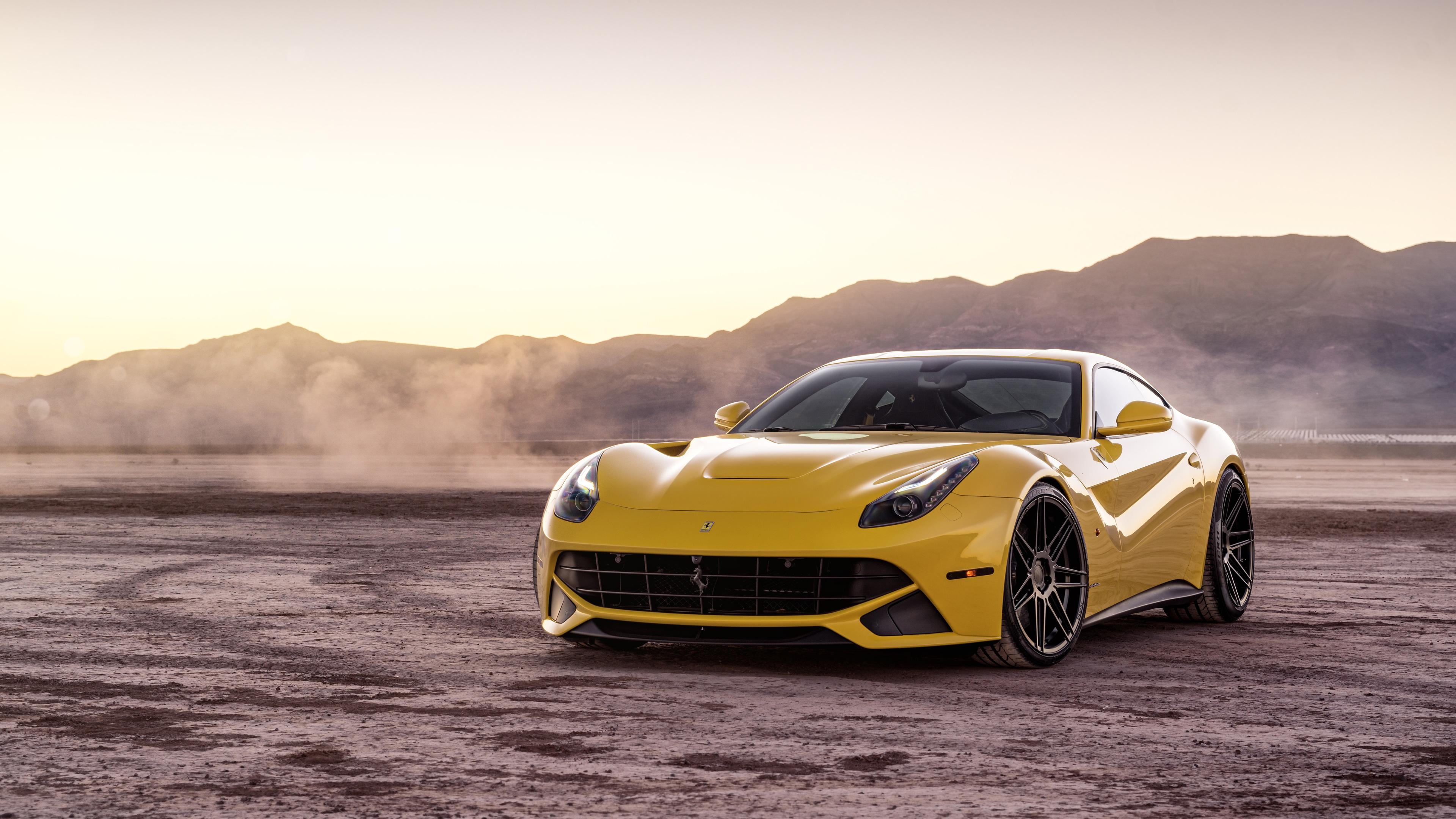 Yellow Ferrari Hd Wallpapers For Mobile