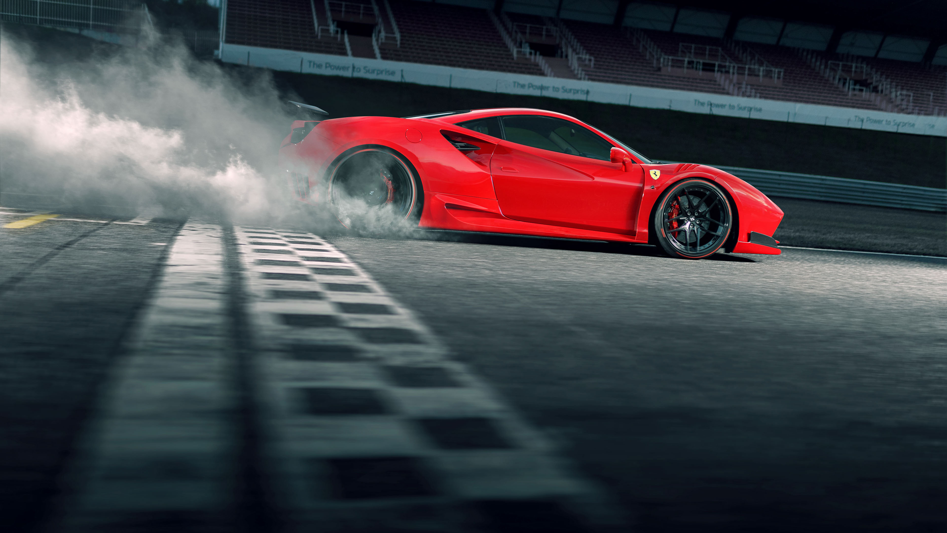 ferrari 488 gtb drifting 1539112168 - Ferrari 488 Gtb Drifting - hd-wallpapers, ferrari wallpapers, ferrari 488 wallpapers, drifting wallpapers, cars wallpapers, behance wallpapers, artist wallpapers, 4k-wallpapers
