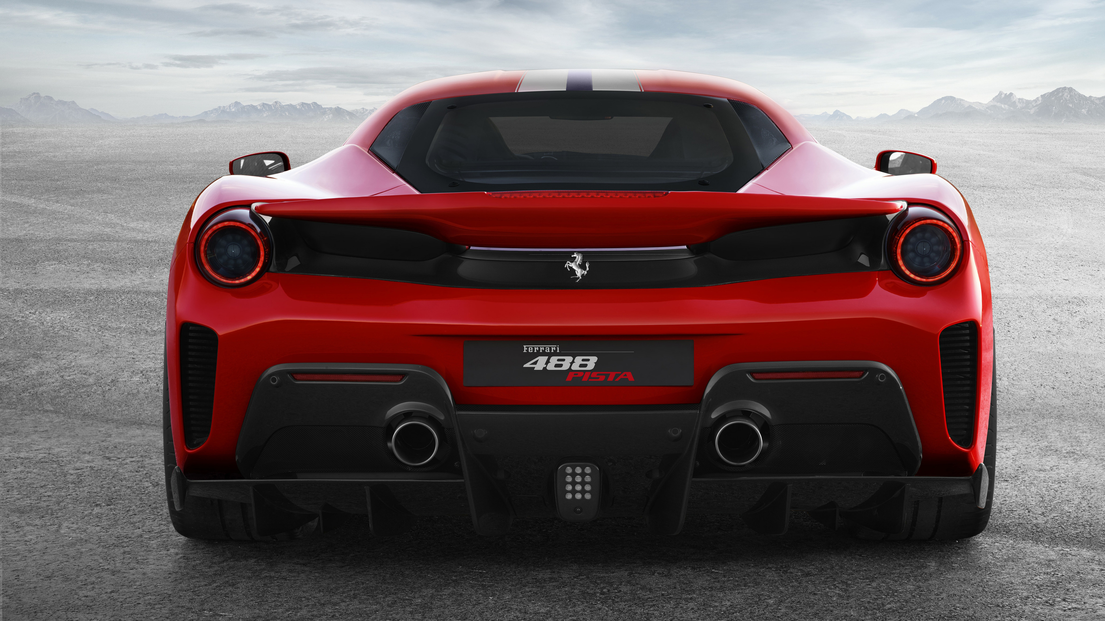 ferrari 488 pista rear view 4k 1539110121 - Ferrari 488 Pista Rear View 4k - hd-wallpapers, ferrari wallpapers, ferrari 488 wallpapers, ferrari 488 pista wallpapers, 4k-wallpapers, 2018 cars wallpapers
