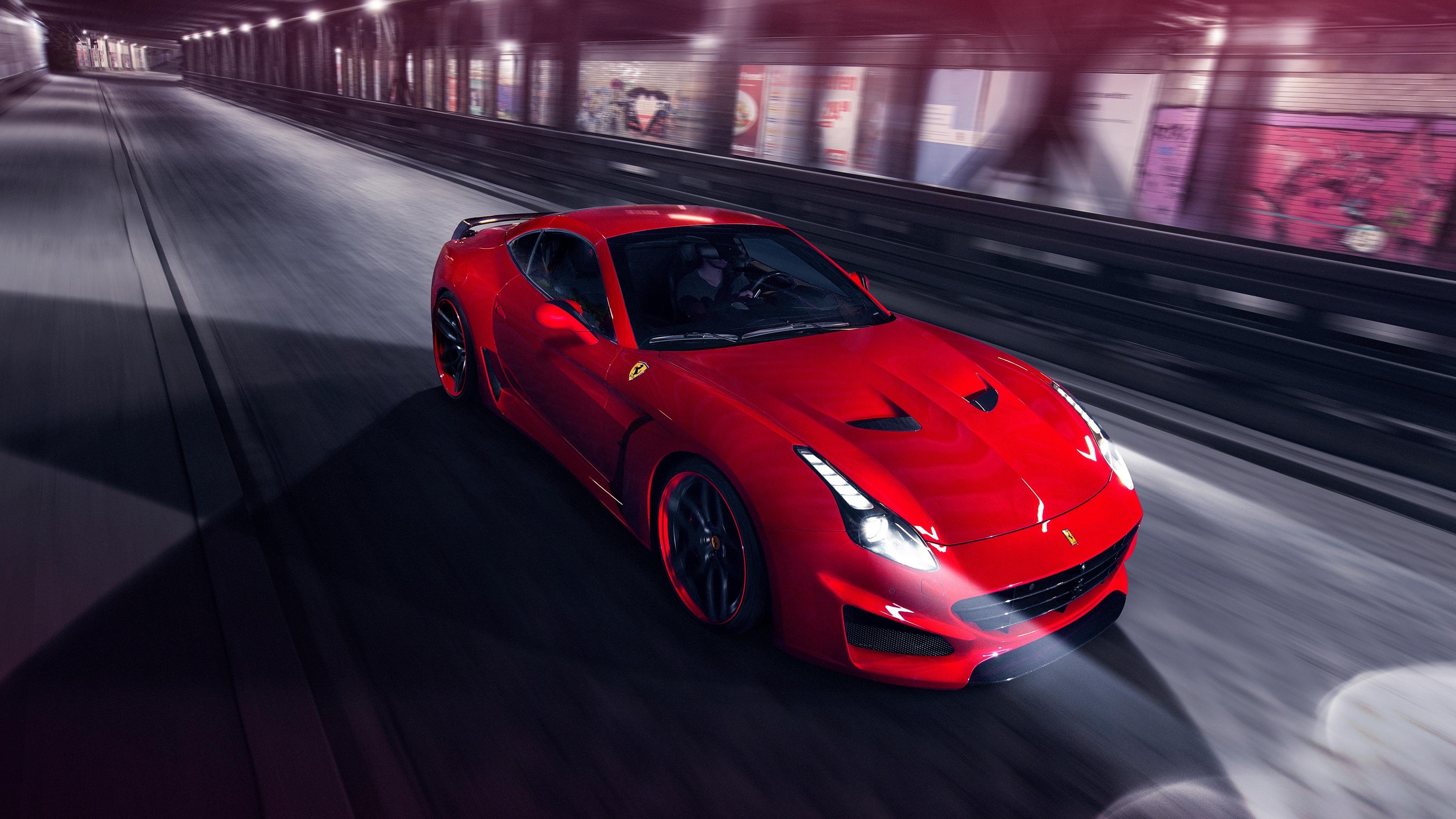 ferrari pininfarina novitec rosso red speed 4k 1538934691 - ferrari, pininfarina, novitec rosso, red, speed 4k - Pininfarina, novitec rosso, Ferrari