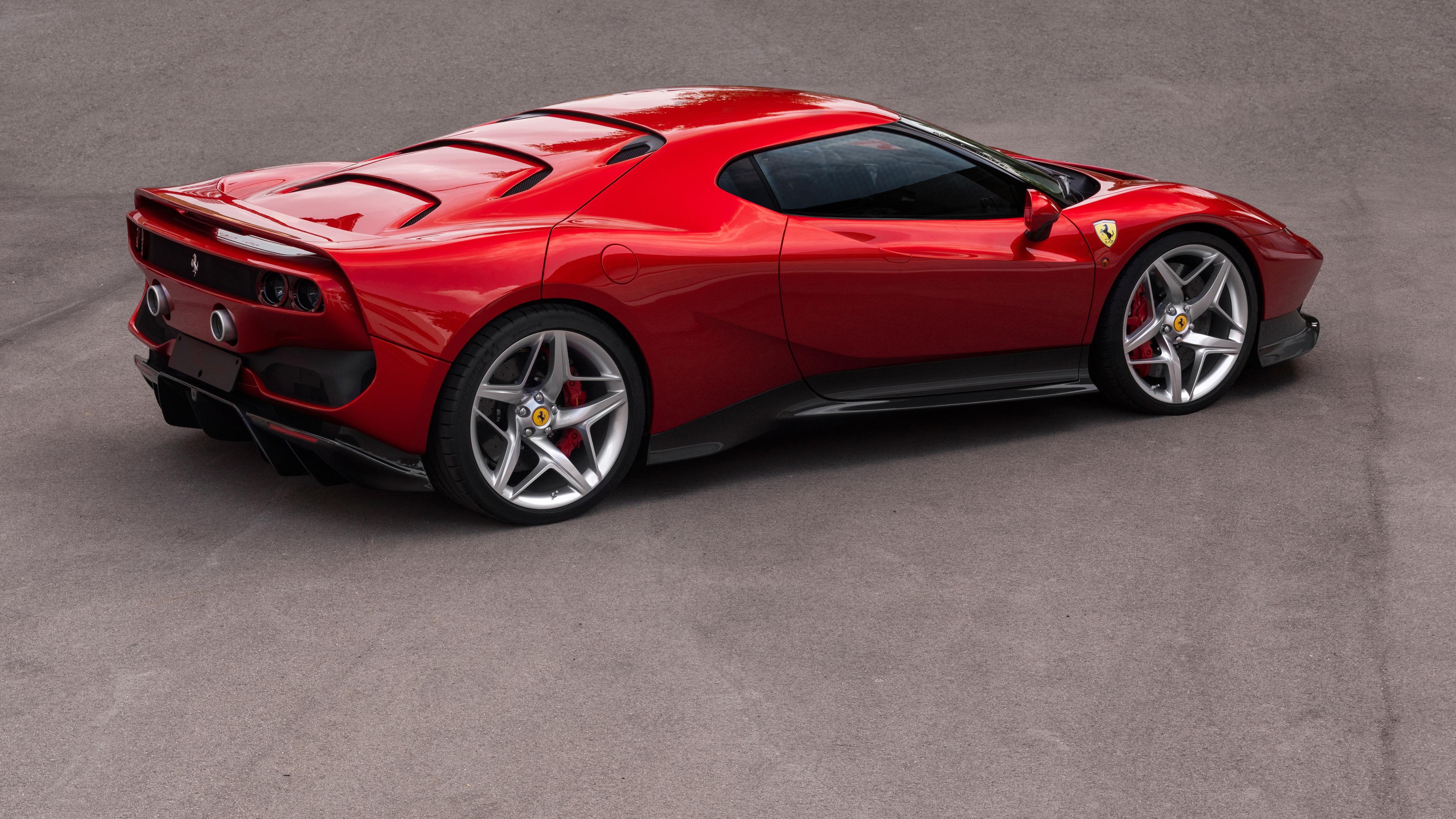 ferrari sp 38 1539111495 - Ferrari SP 38 - hd-wallpapers, ferrari wallpapers, ferrari sp38 wallpapers, cars wallpapers, 4k-wallpapers, 2018 cars wallpapers
