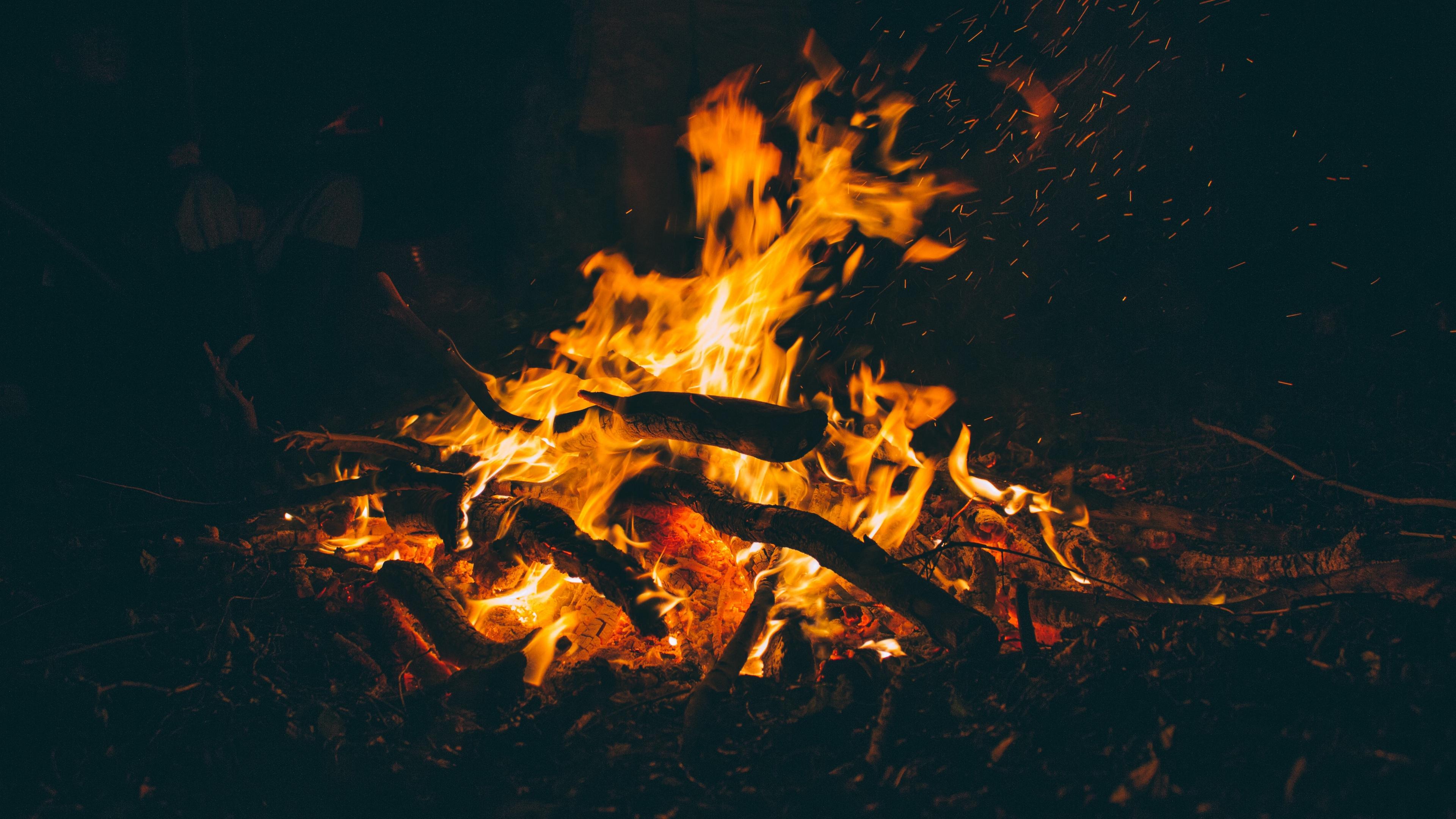 fire firewood ash 4k 1540576369 - fire, firewood, ash 4k - firewood, Fire, Ash