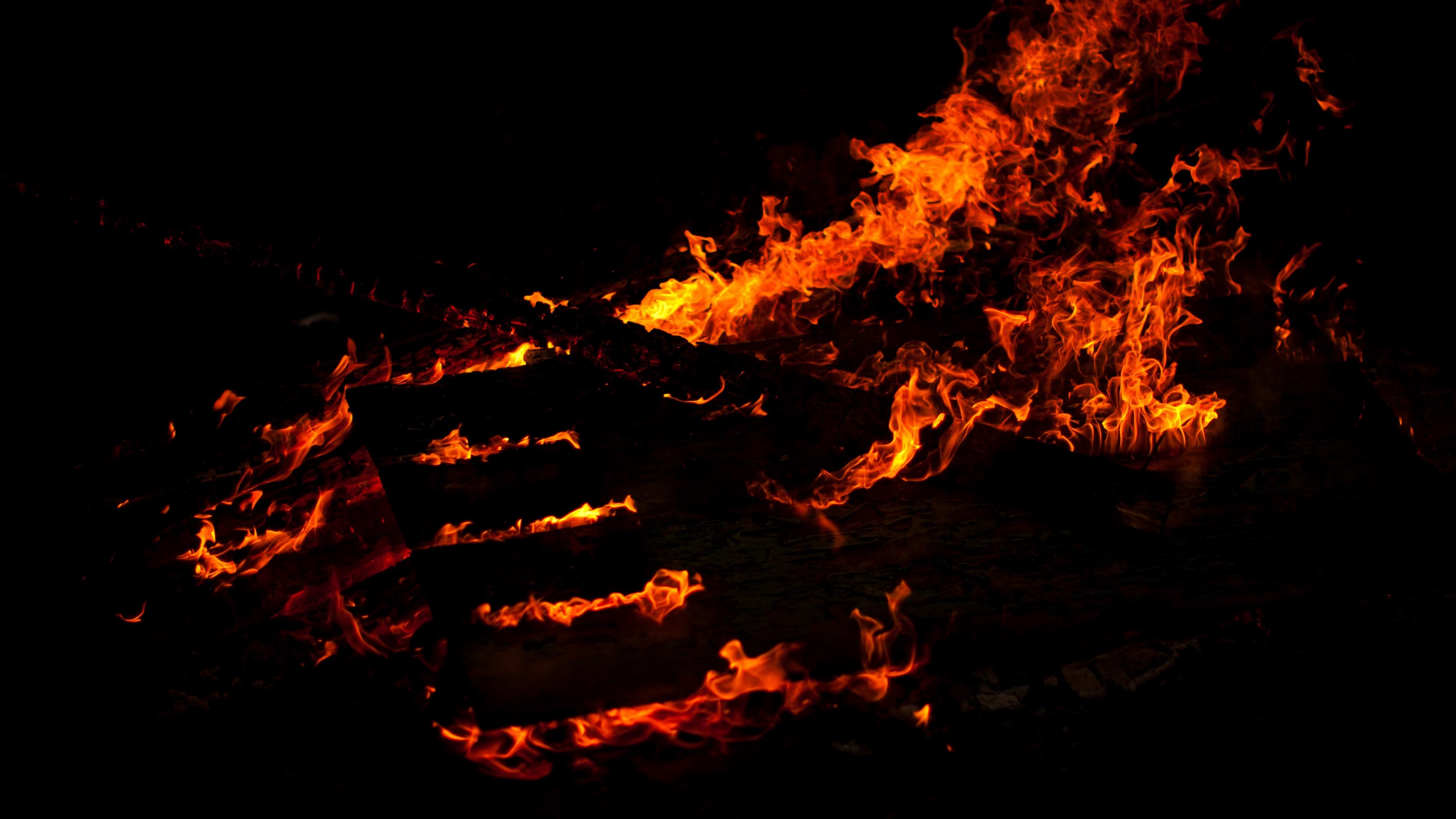 fire lines black background 4k 1540574728 - fire, lines, black background 4k - Lines, Fire, black background
