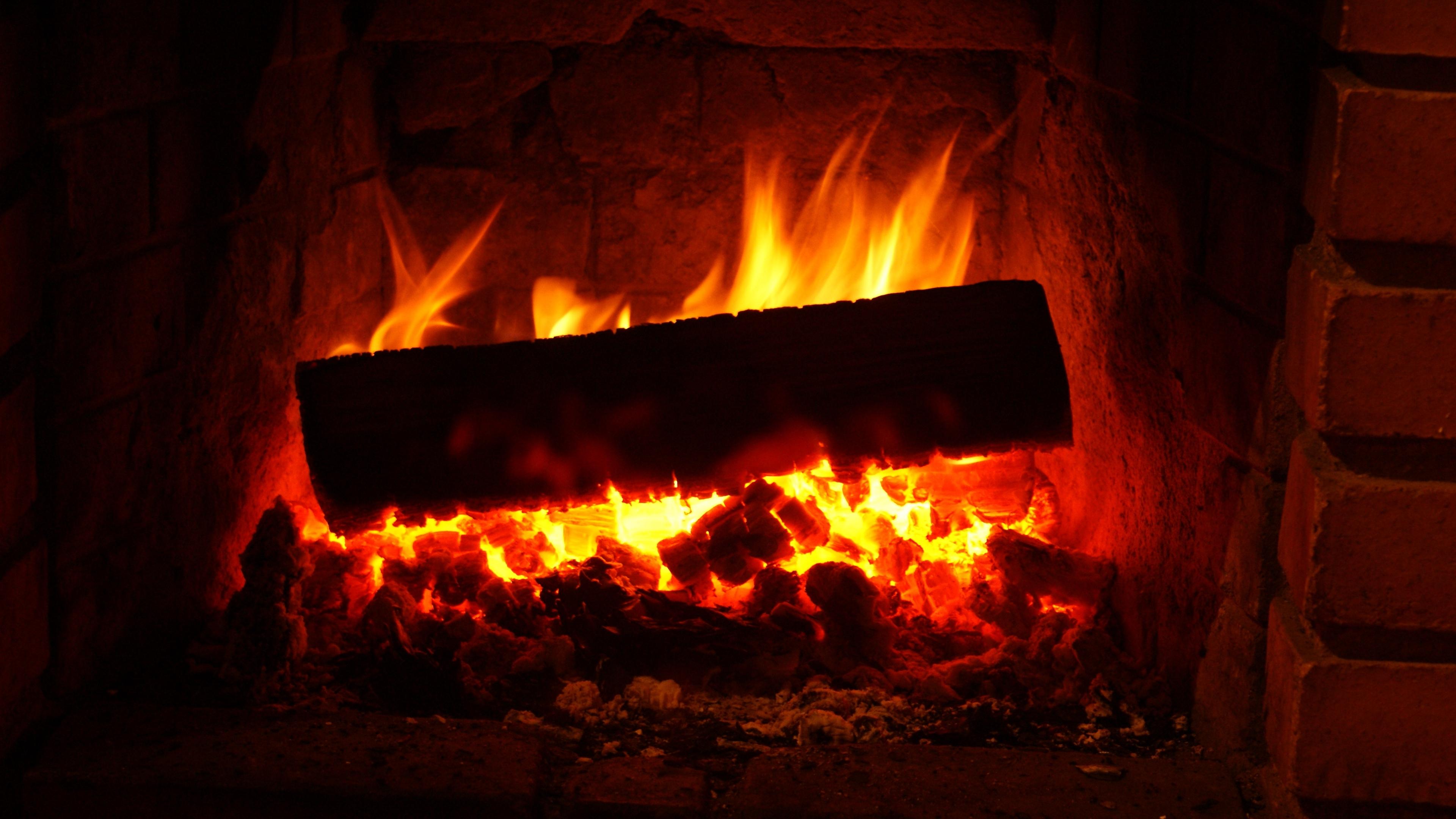fireplace wood embers fire 4k 1540574442 - fireplace, wood, embers, fire 4k - wood, fireplace, embers
