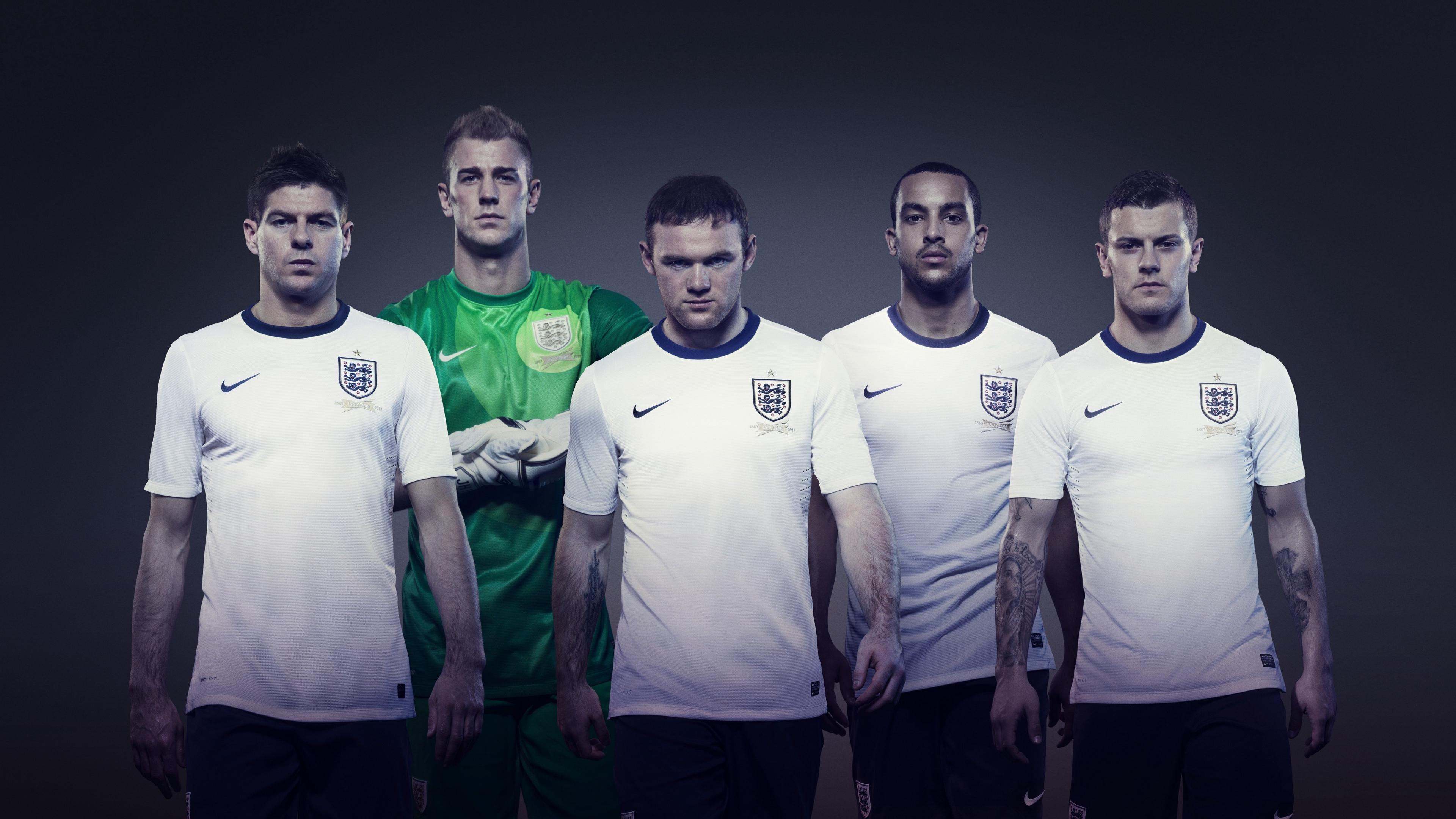 football jack wilshere wayne rooney joe hart steven gerrard theo walcott england shape nike team england 4k 1540063424 - football, jack wilshere, wayne rooney, joe hart, steven gerrard, theo walcott, england, shape, nike, team england 4k - wayne rooney, jack wilshere, Football