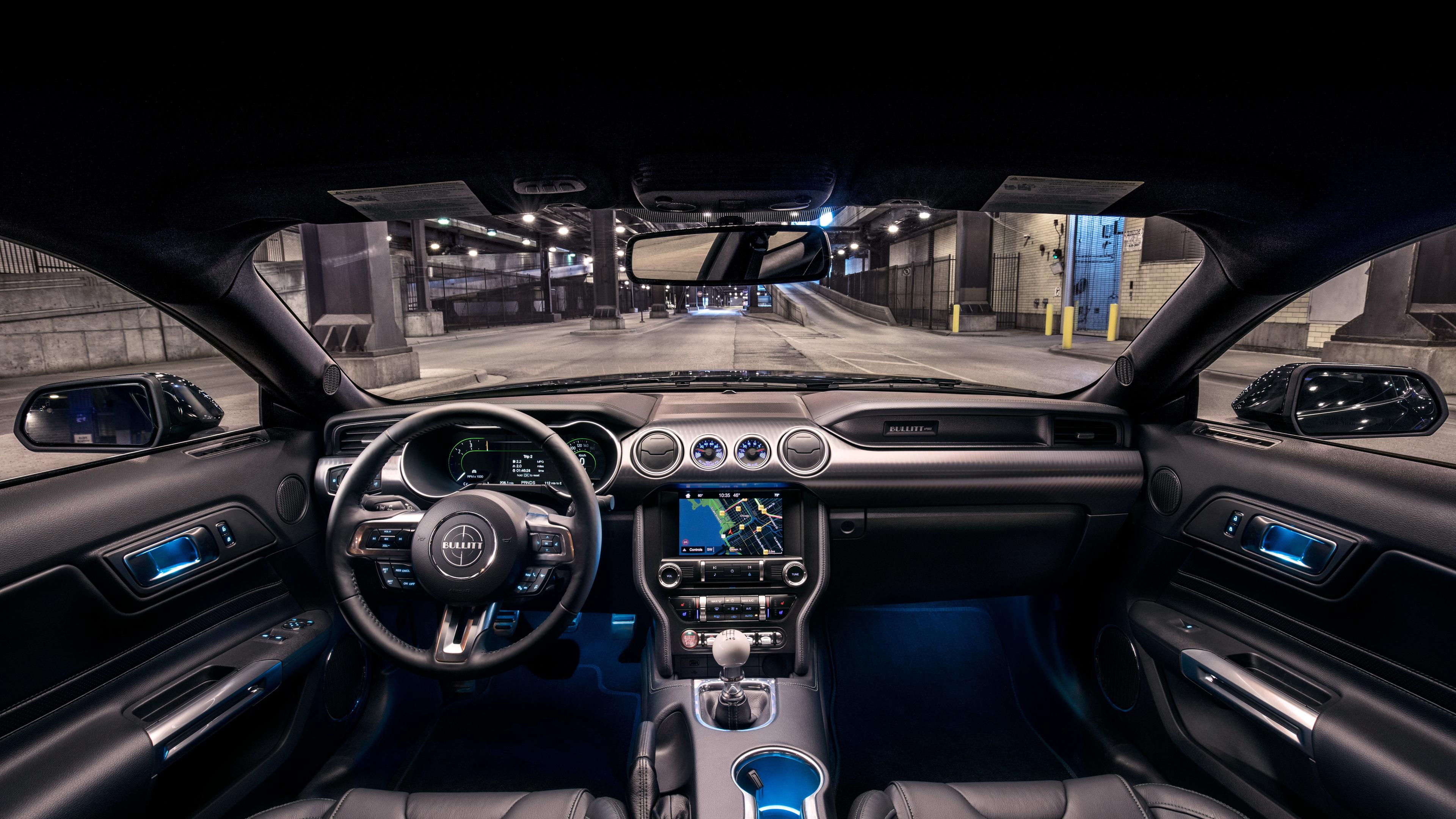 ford mustang bullitt interior 1539109112 - Ford Mustang Bullitt Interior - mustang wallpapers, hd-wallpapers, ford mustang wallpapers, ford mustang bullitt wallpapers, cars wallpapers, 4k-wallpapers, 2019 cars wallpapers