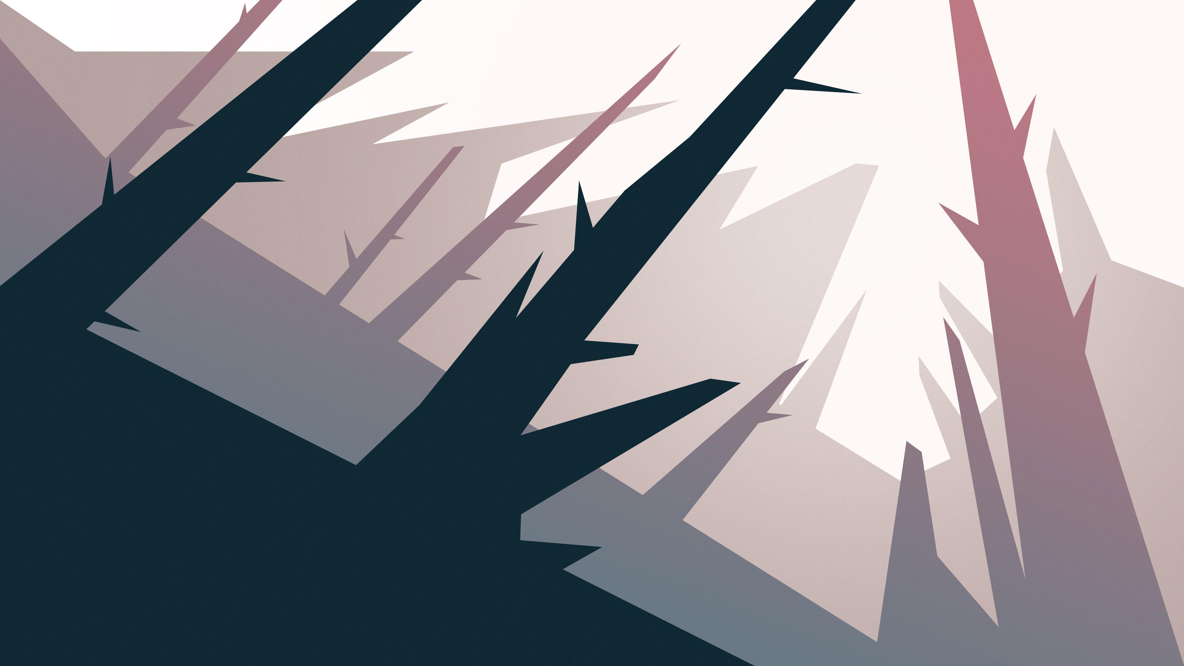 forest trees minimalism 4k 1540755600 - Forest Trees Minimalism 4k - tree wallpapers, minimalism wallpapers, hd-wallpapers, forest wallpapers, digital art wallpapers, deviantart wallpapers, artwork wallpapers, artist wallpapers, 4k-wallpapers