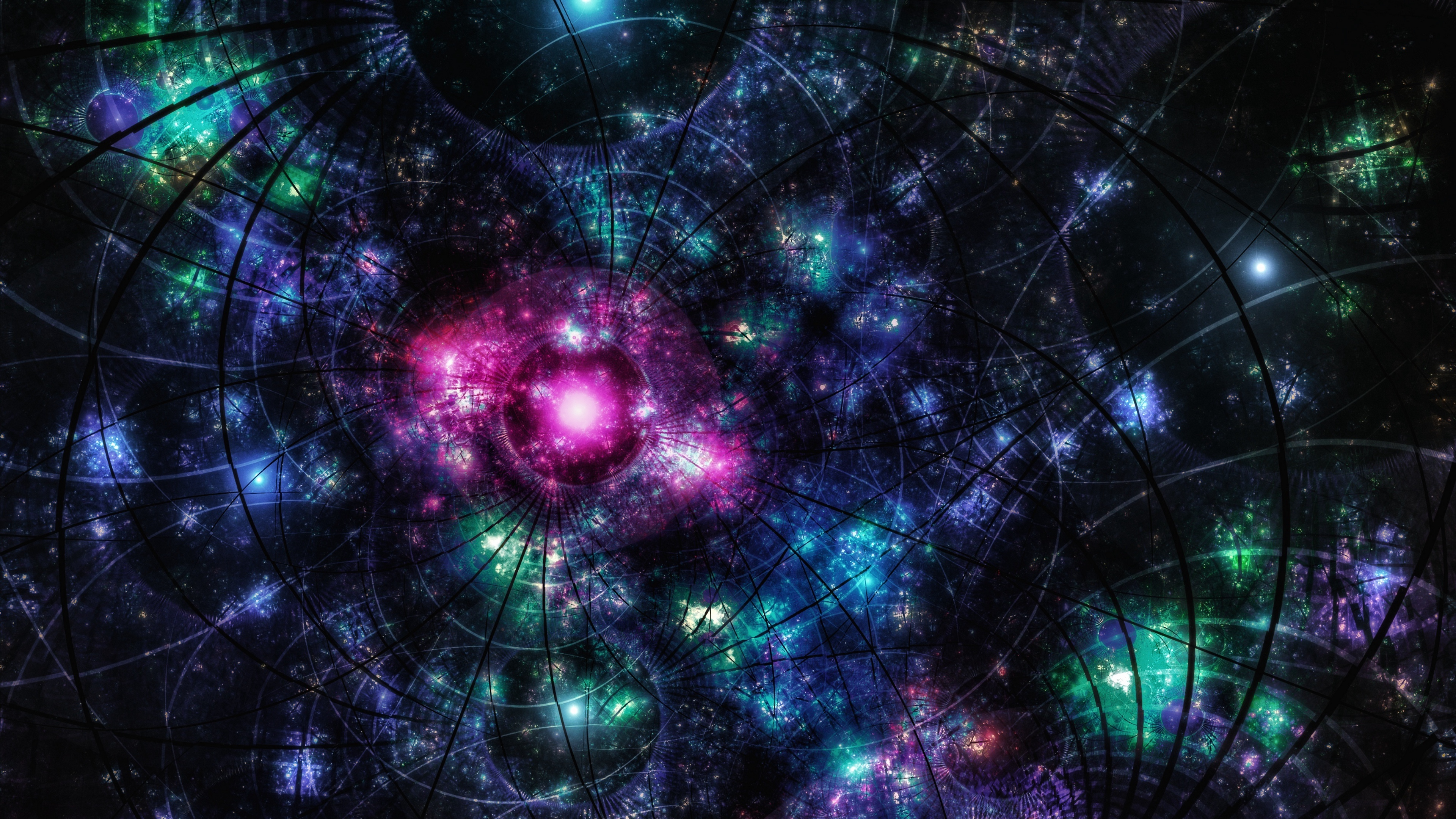 fractal patterns spots glitter 4k 1539369590 - fractal, patterns, spots, glitter 4k - spots, patterns, Fractal
