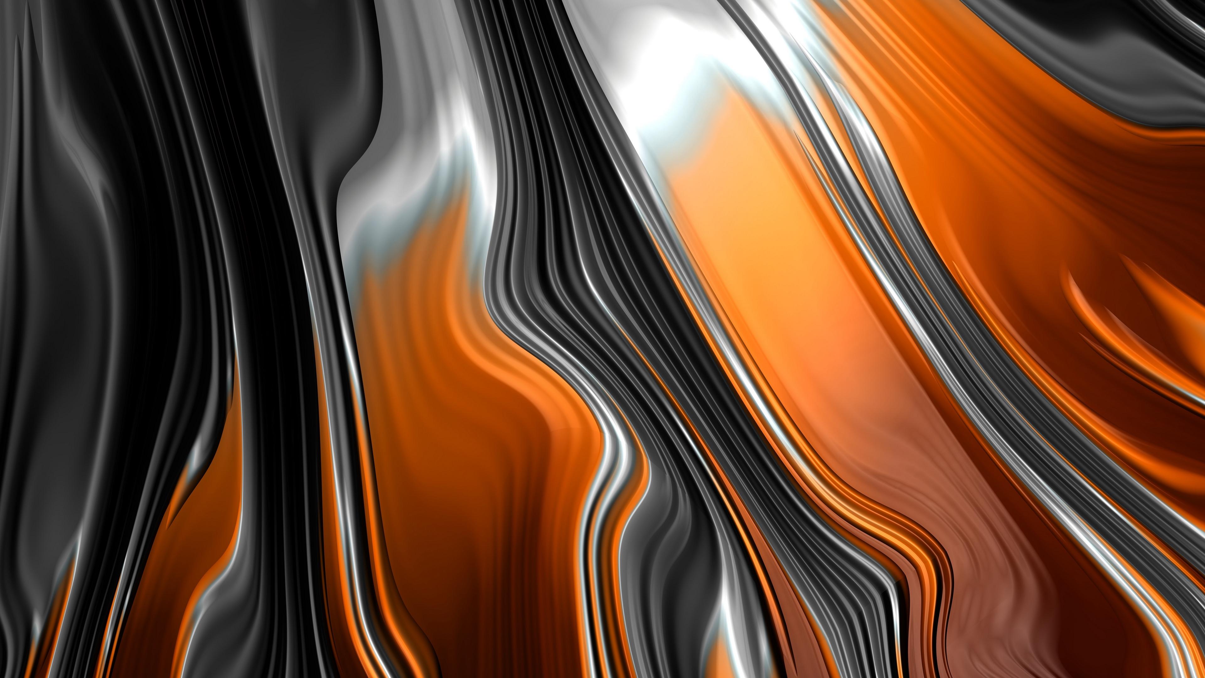 fractal stripes bends lines 4k 1539369730 - fractal, stripes, bends, lines 4k - Stripes, Fractal, bends