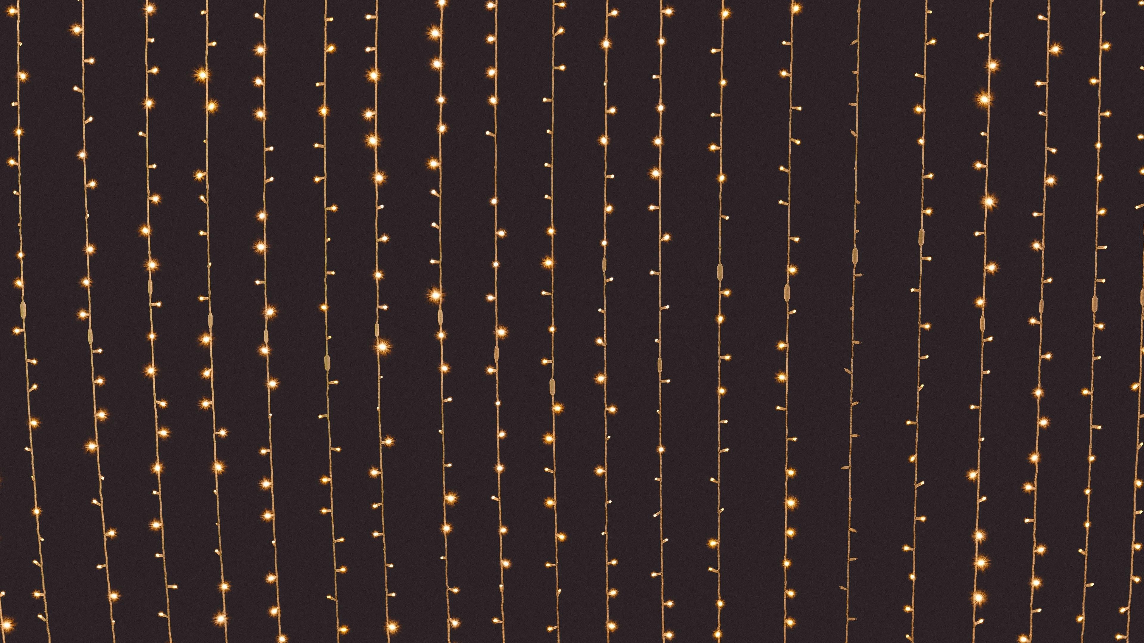 garlands light electricity 4k 1540575316 - garlands, light, electricity 4k - Light, garlands, electricity