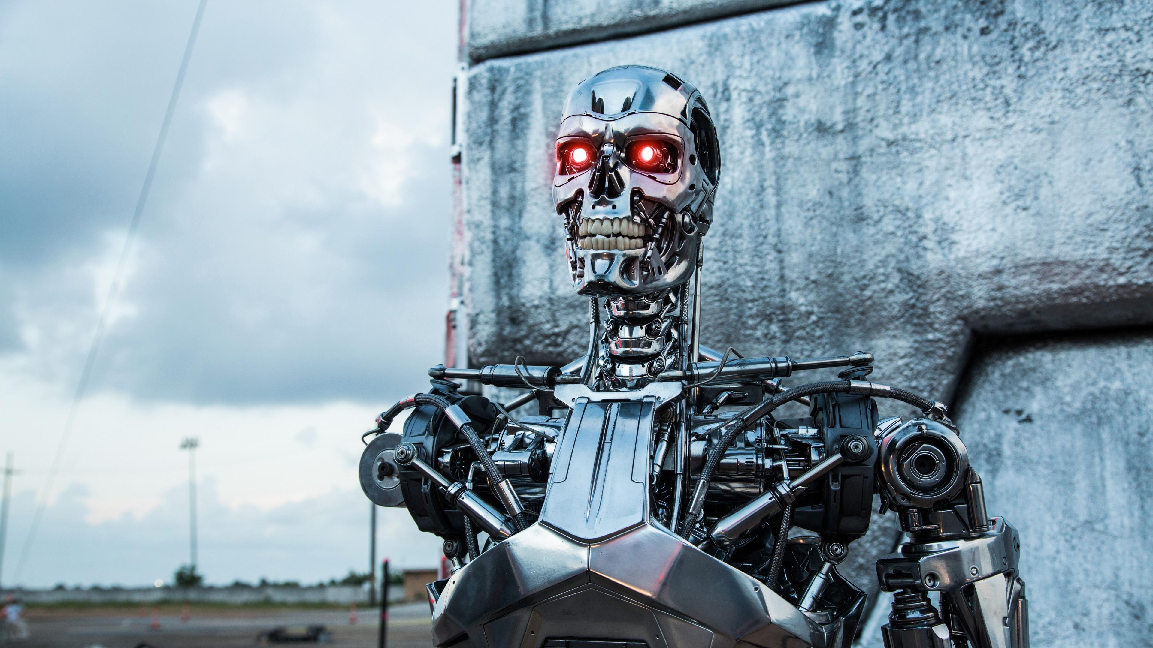 genesis terminator robot t 800 4k 1539368181 - genesis, terminator, robot, t-800 4k - terminator, Robot, Genesis
