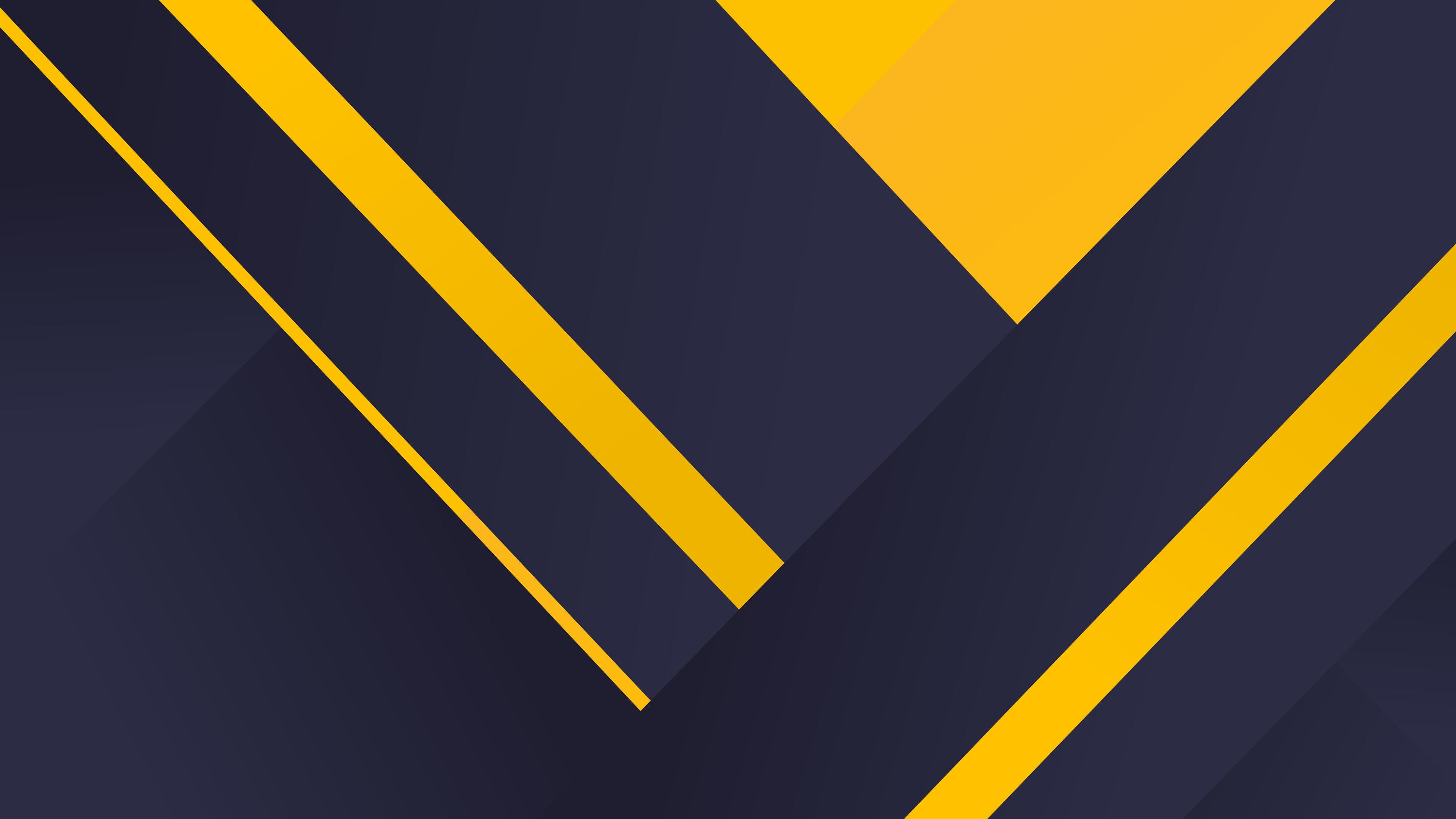 geometric material yellow blue 4k 1539371362 - Geometric Material Yellow Blue 4k - yellow wallpapers, material wallpapers, hd-wallpapers, geometry wallpapers, digital art wallpapers, design wallpapers, blue wallpapers, behance wallpapers, artwork wallpapers, artist wallpapers, abstract wallpapers, 5k wallpapers, 4k-wallpapers