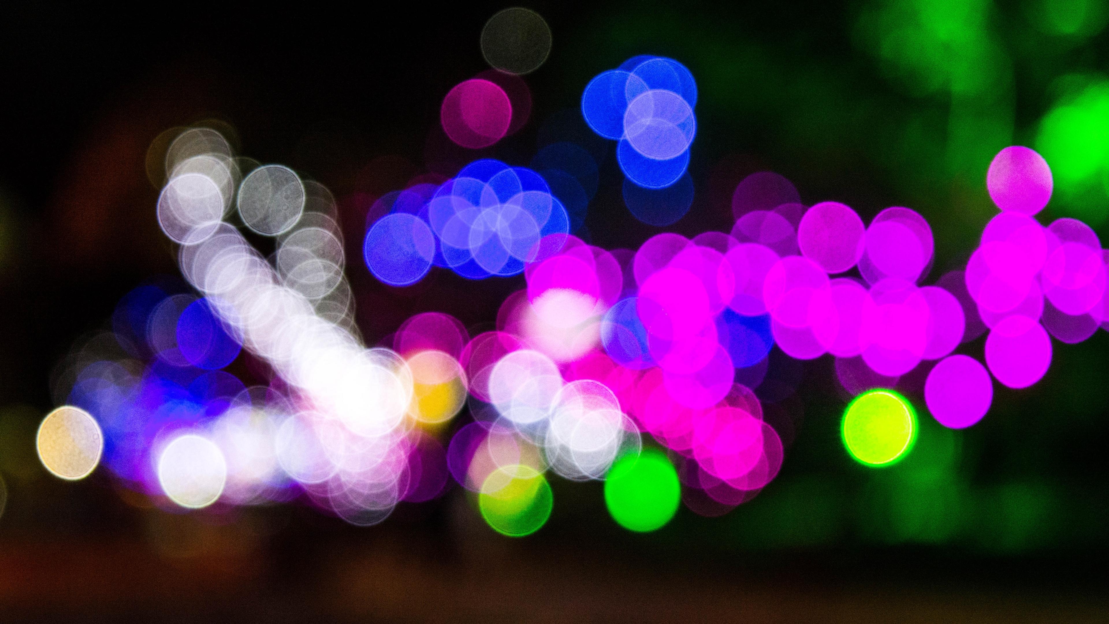 glare circles bright colorful 4k 1539369536 - glare, circles, bright, colorful 4k - glare, Circles, Bright