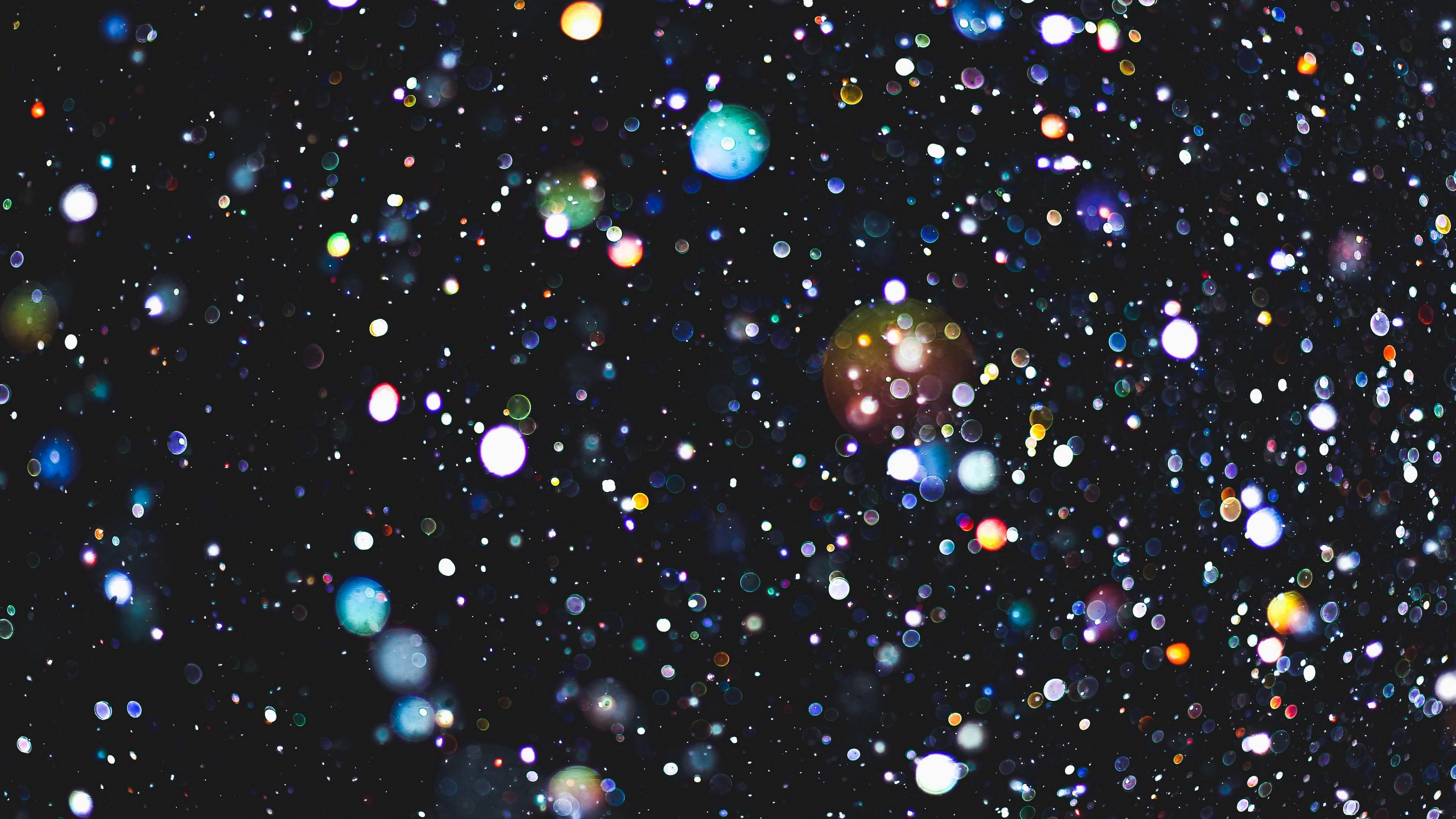 glare circles glitter light 4k 1539370398 - glare, circles, glitter, light 4k - Glitter, glare, Circles