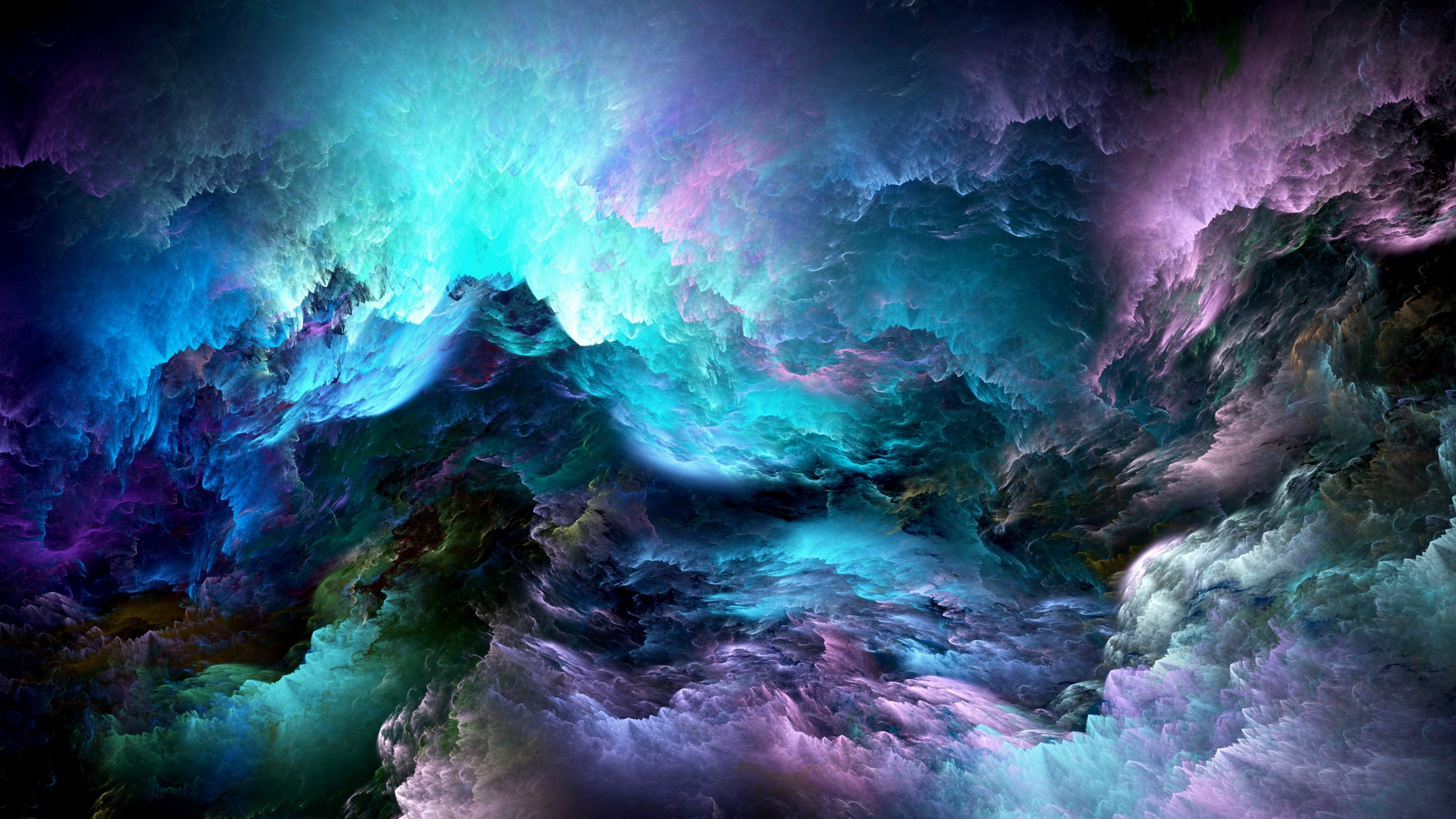 glowing clouds abstract 5k 1539371319 - Glowing Clouds Abstract 5k - hd-wallpapers, glow wallpapers, colorful wallpapers, clouds wallpapers, abstract wallpapers, 5k wallpapers, 4k-wallpapers