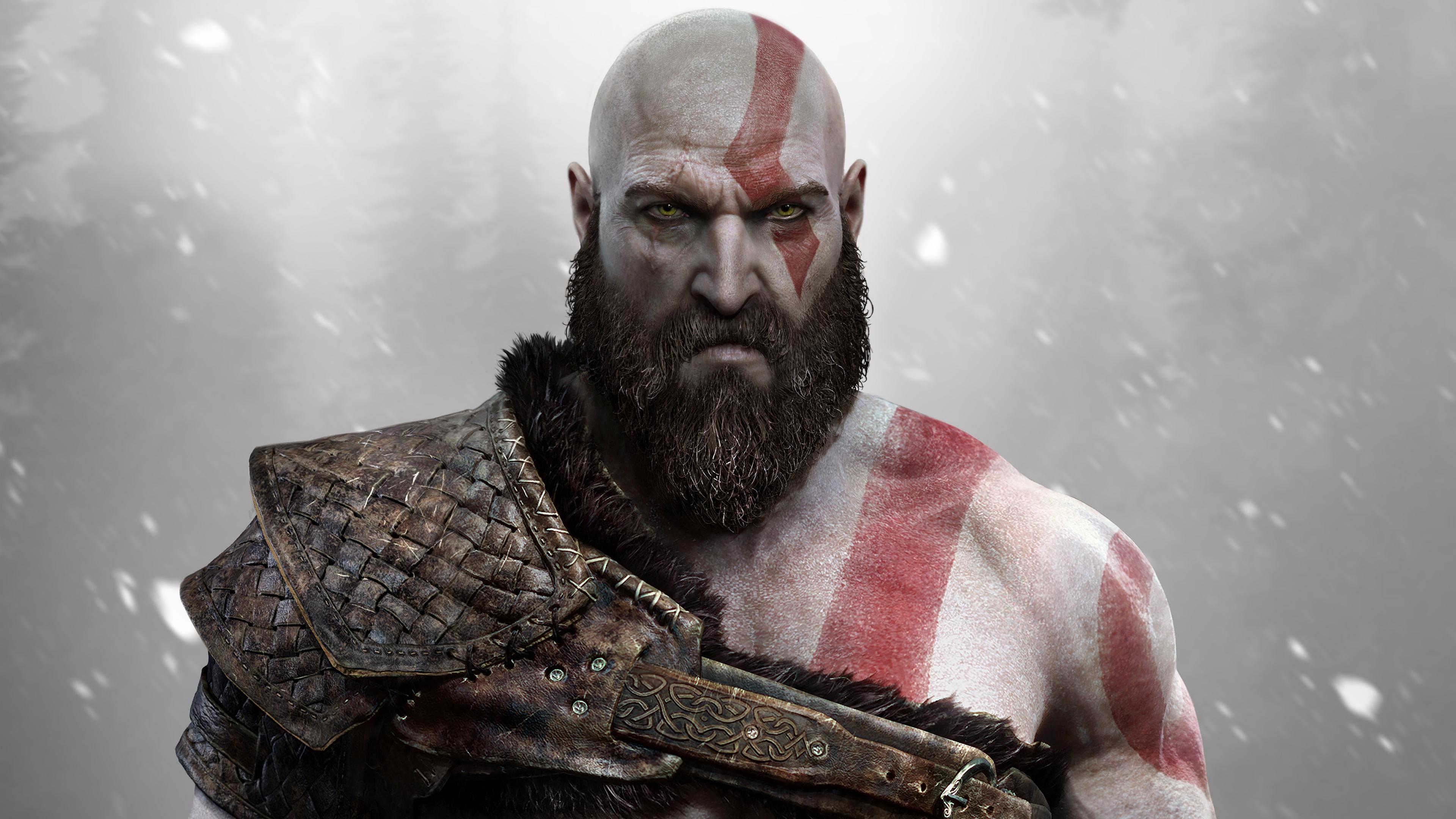 god of war kratos sony santa monica 4k 1538945020 - god of war, kratos, sony santa monica 4k - sony santa monica, Kratos, god of war