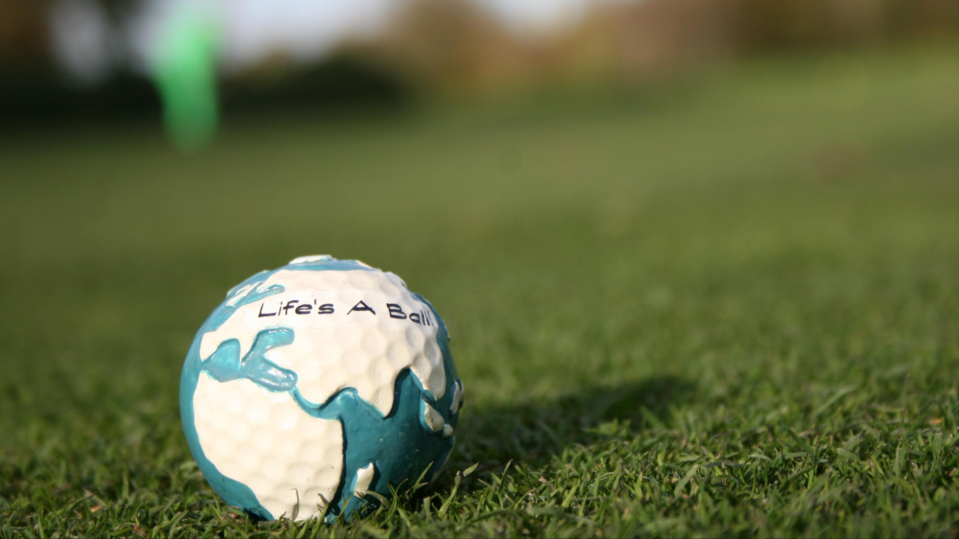 golf ball grass 4k 1540061539 - golf, ball, grass 4k - Grass, golf, Ball