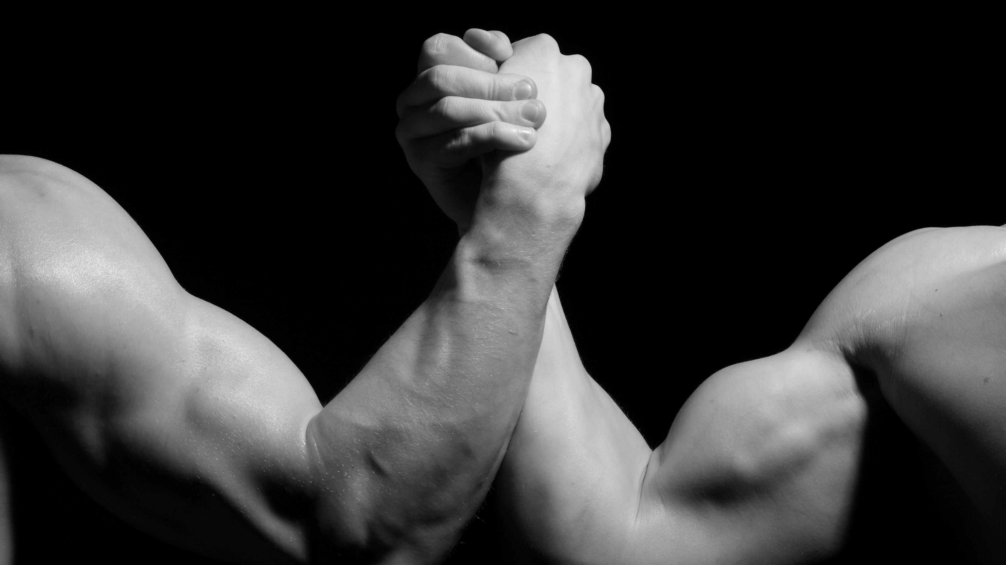 hands men wrestling biceps black and white arm wrestling 4k 1540063186 - hands, men, wrestling, biceps, black and white, arm wrestling 4k - wrestling, Men, Hands