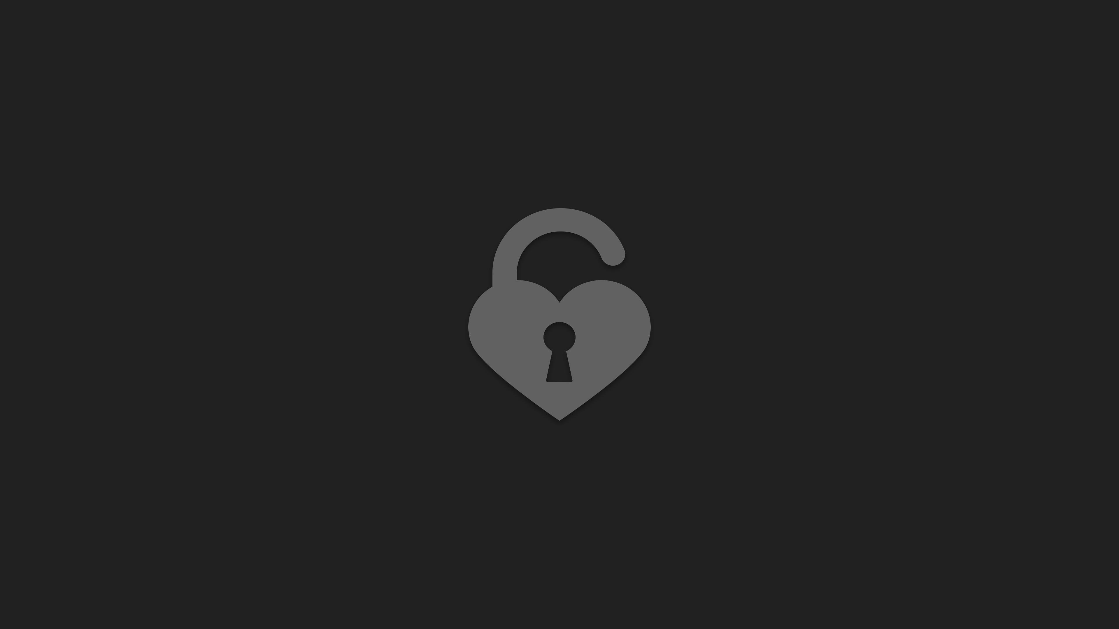 Wallpaper 4k Hear Unlock Minimalist 4k Artist Wallpapers