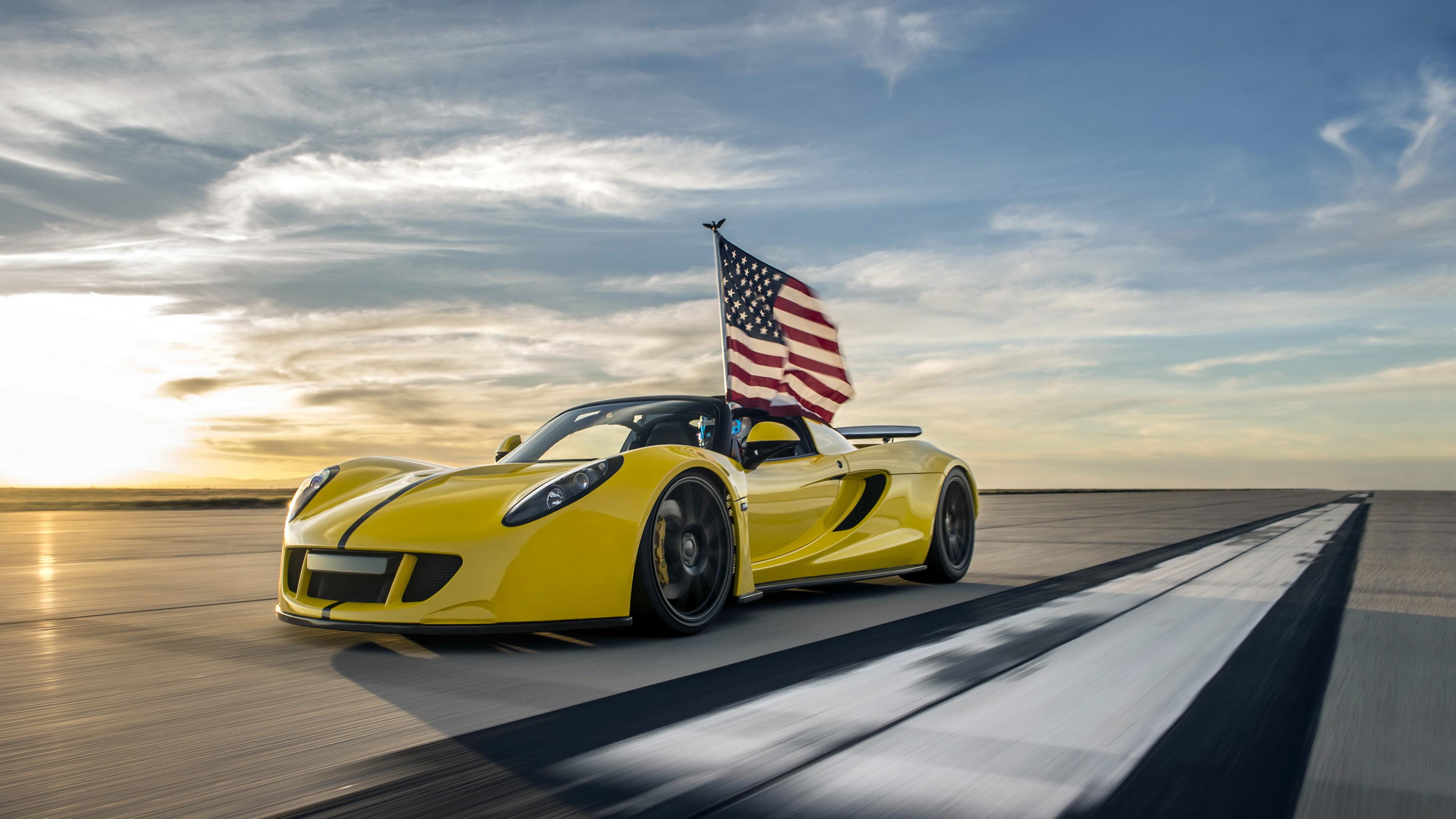 Wallpaper 4k Hennessey Venom Gt Spyder 4k 2017 Cars