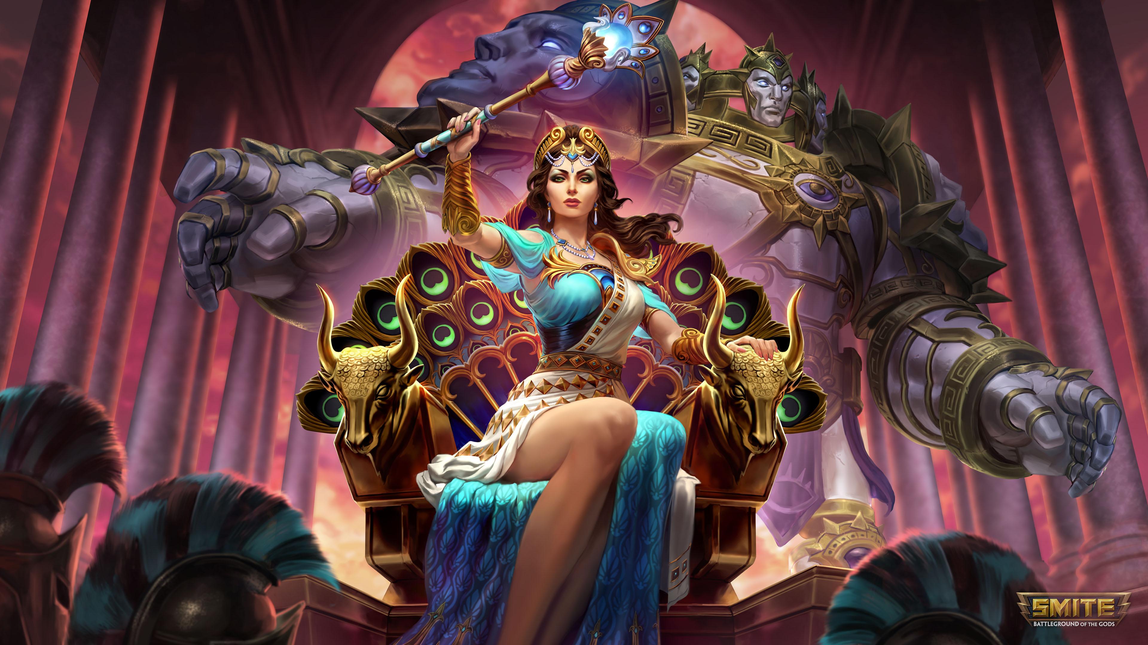 hera queen of the gods 4k 1540982600 - Hera Queen Of The Gods 4k - smite wallpapers, hd-wallpapers, games wallpapers, 4k-wallpapers