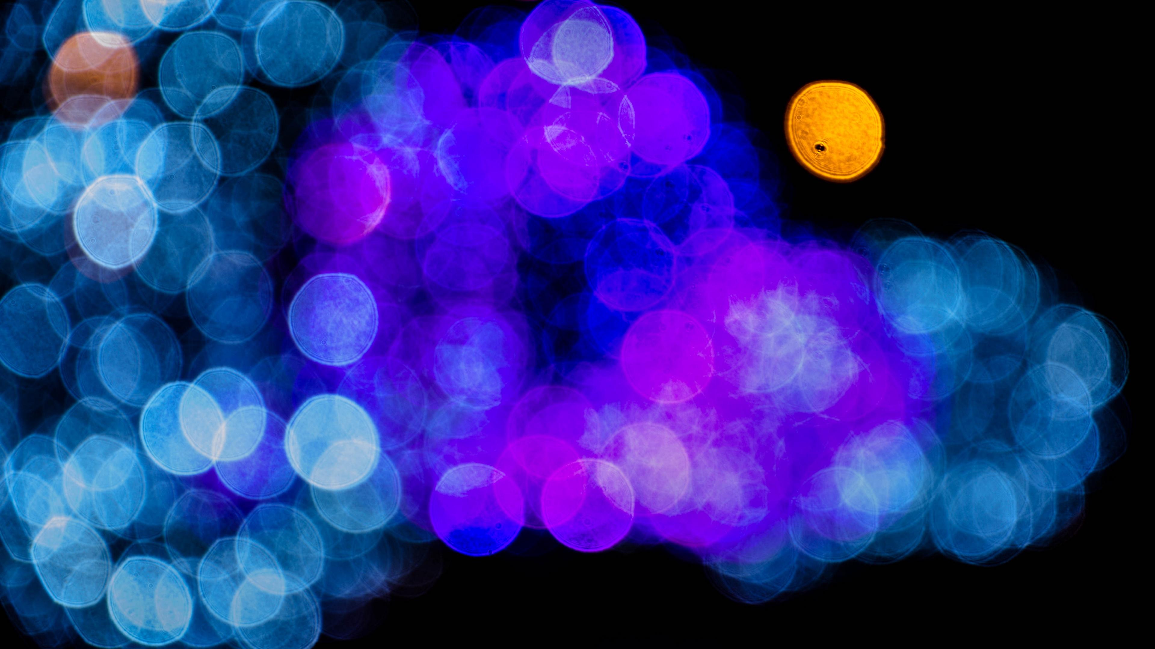 highlights circles blue cyan 4k 1539369986 - highlights, circles, blue, cyan 4k - highlights, Circles, blue