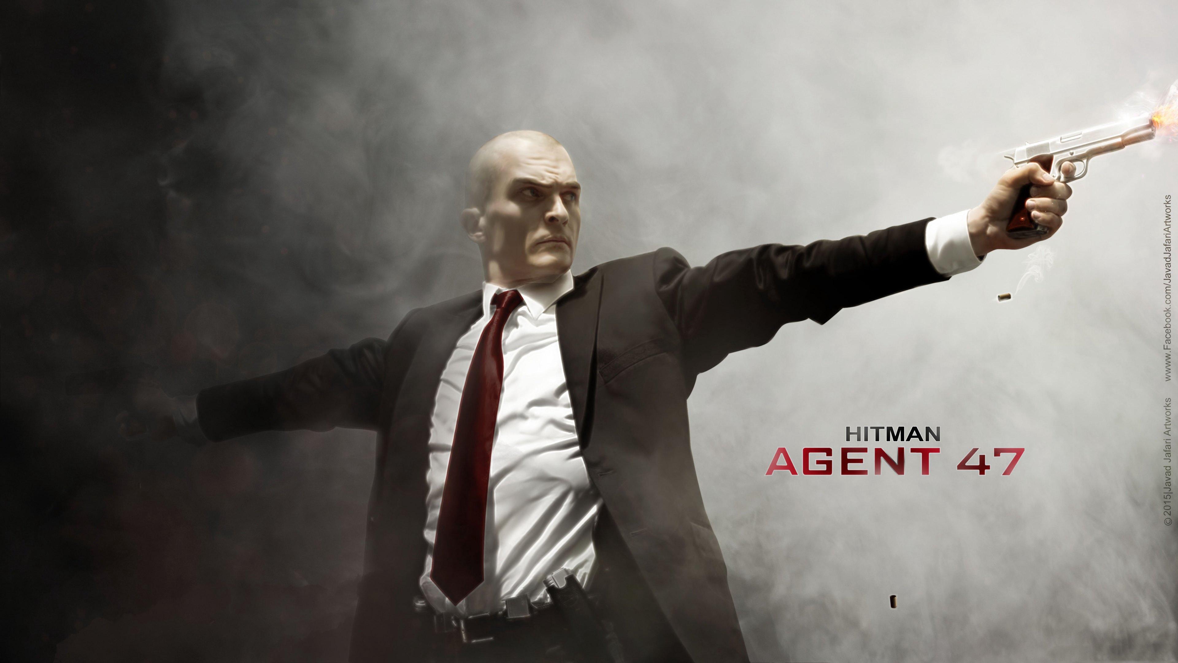 hitman agent 47 rupert friend art 4k 1539368174 - hitman agent 47, rupert friend, art 4k - rupert friend, hitman agent 47, art
