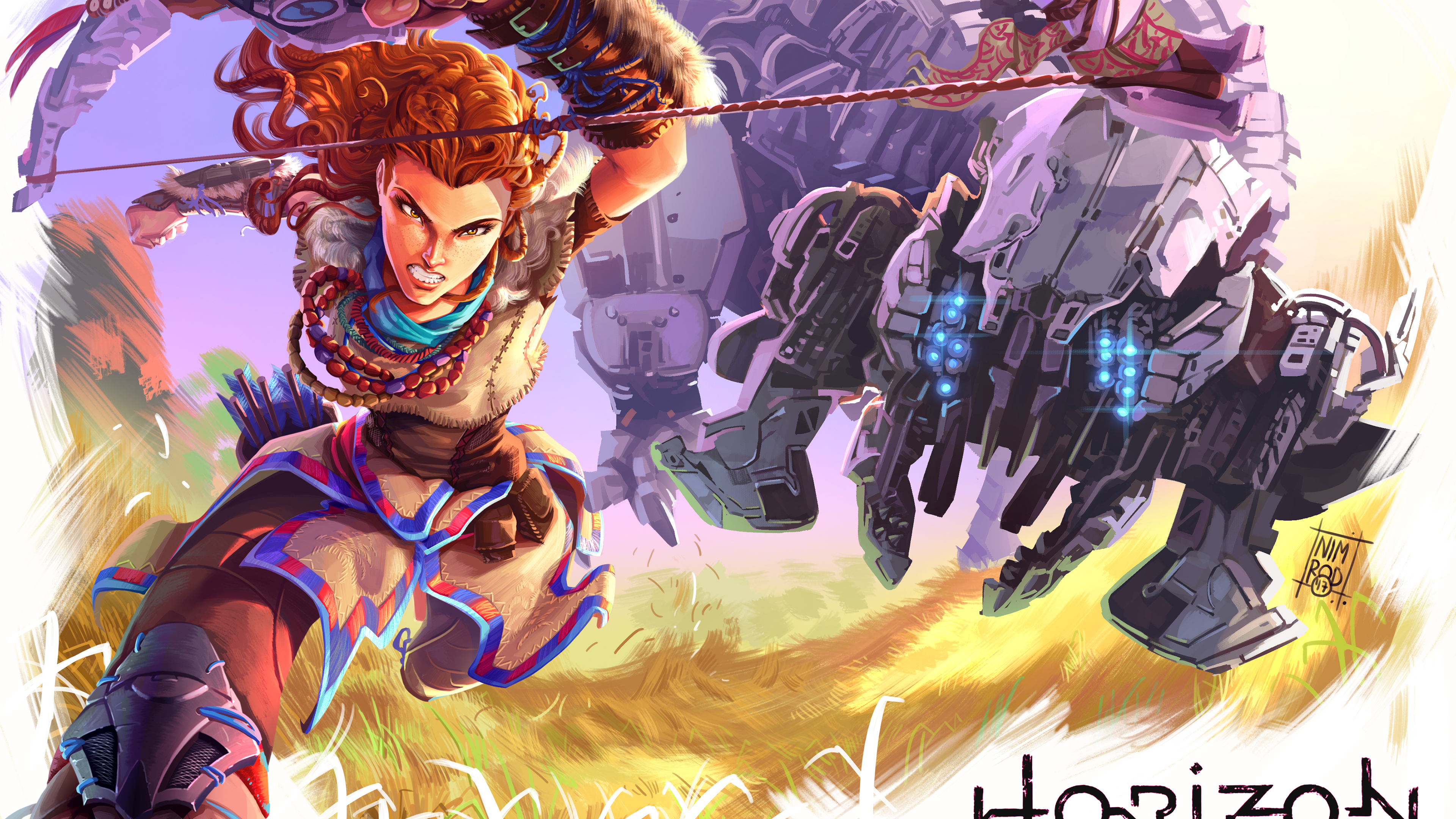 horizon zero dawn 4k fanart 1540982737 - Horizon Zero Dawn 4k Fanart - xbox games wallpapers, ps games wallpapers, pc games wallpapers, horizon zero dawn wallpapers, hd-wallpapers, games wallpapers, digital art wallpapers, behance wallpapers, artwork wallpapers, artist wallpapers, 4k-wallpapers, 2018 games wallpapers