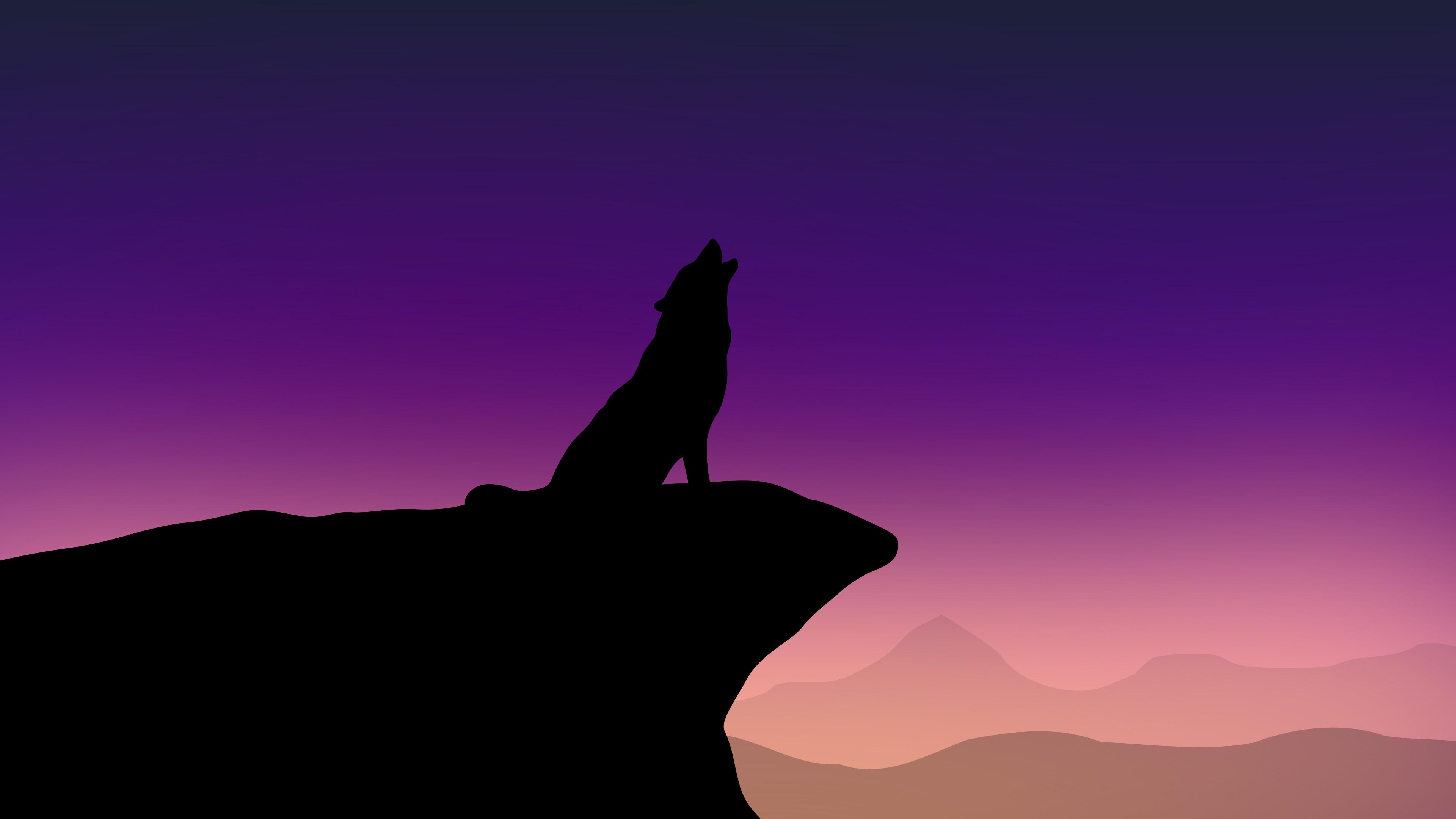 howling wolf minimalism 4k 1540755062 - Howling Wolf Minimalism 4k - wolf wallpapers, minimalist wallpapers, minimalism wallpapers, howling wallpapers, hd-wallpapers, digital art wallpapers, deviantart wallpapers, artwork wallpapers, artist wallpapers, 4k-wallpapers