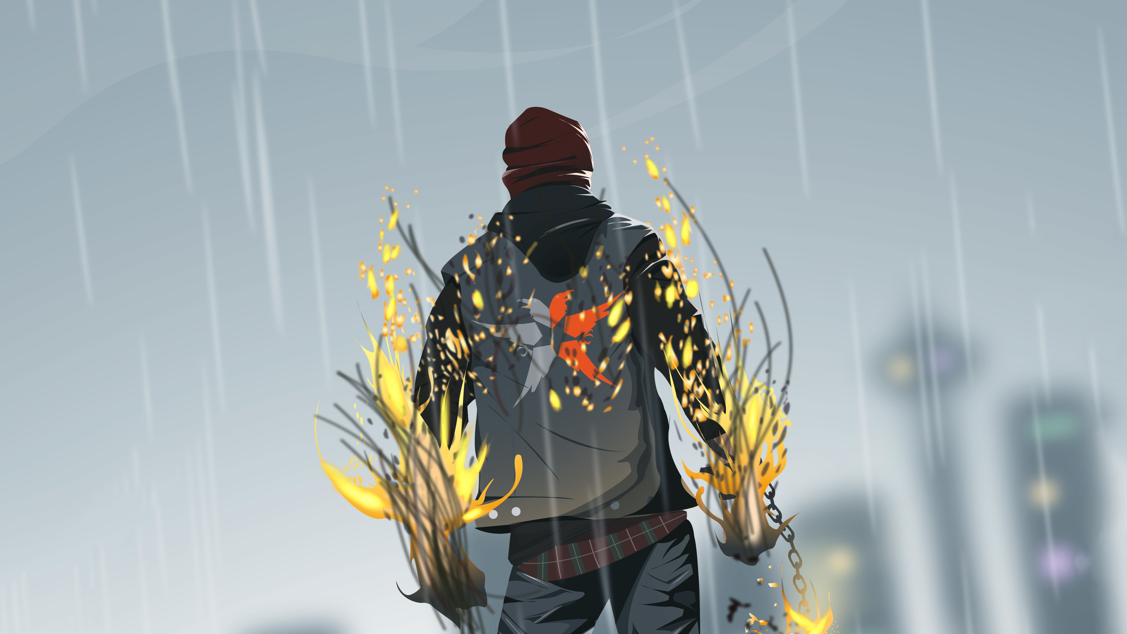 infamous second son game 4k 1540755158 - Infamous Second Son Game 4k - hd-wallpapers, digital art wallpapers, deviantart wallpapers, artwork wallpapers, artist wallpapers, 4k-wallpapers
