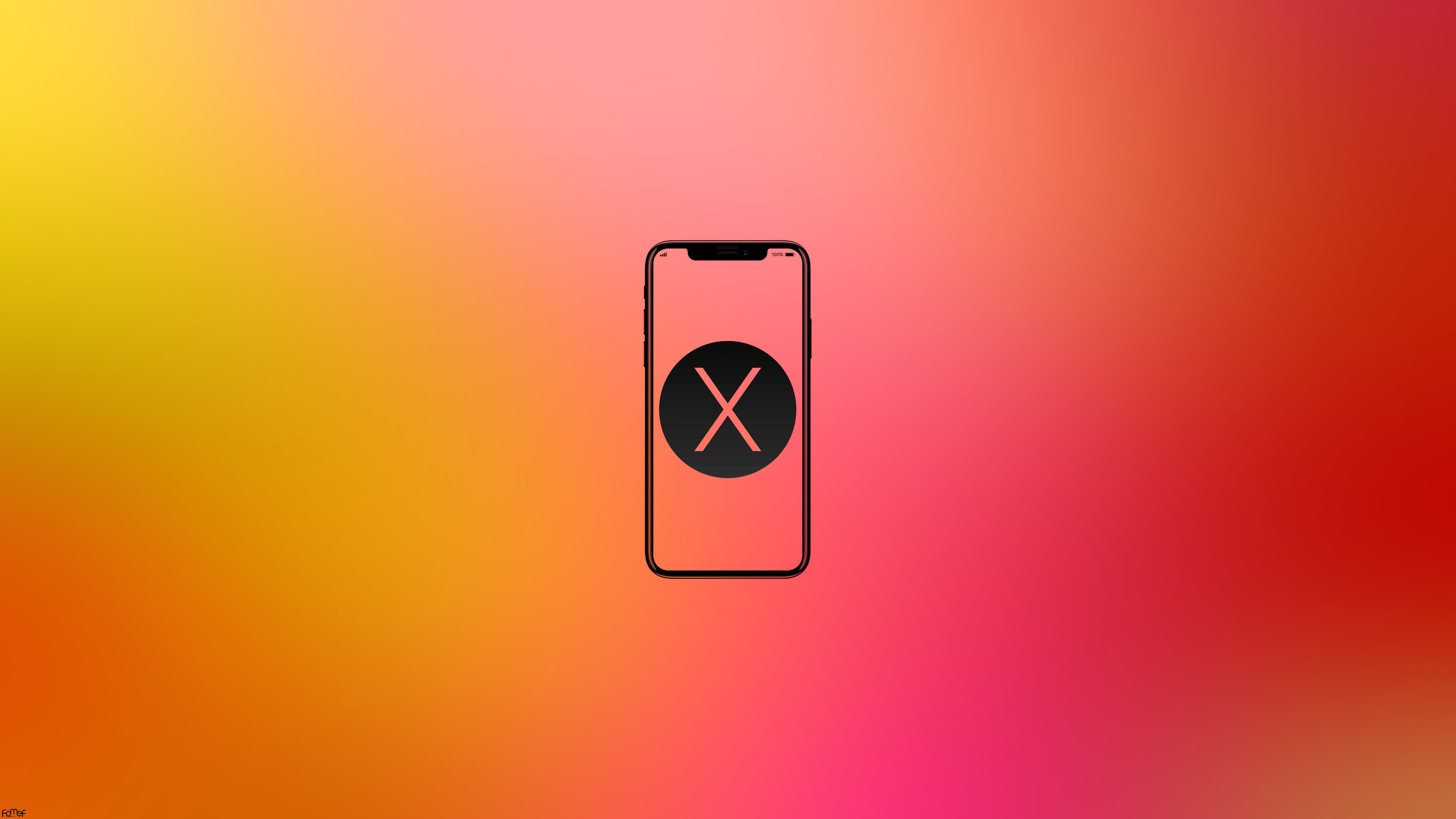 Wallpaper 4k Iphone X Mobile Phone Minimalism 4k 4k Wallpapers Artist Wallpapers Hd Wallpapers Iphone Wallpapers Minimalism Wallpapers