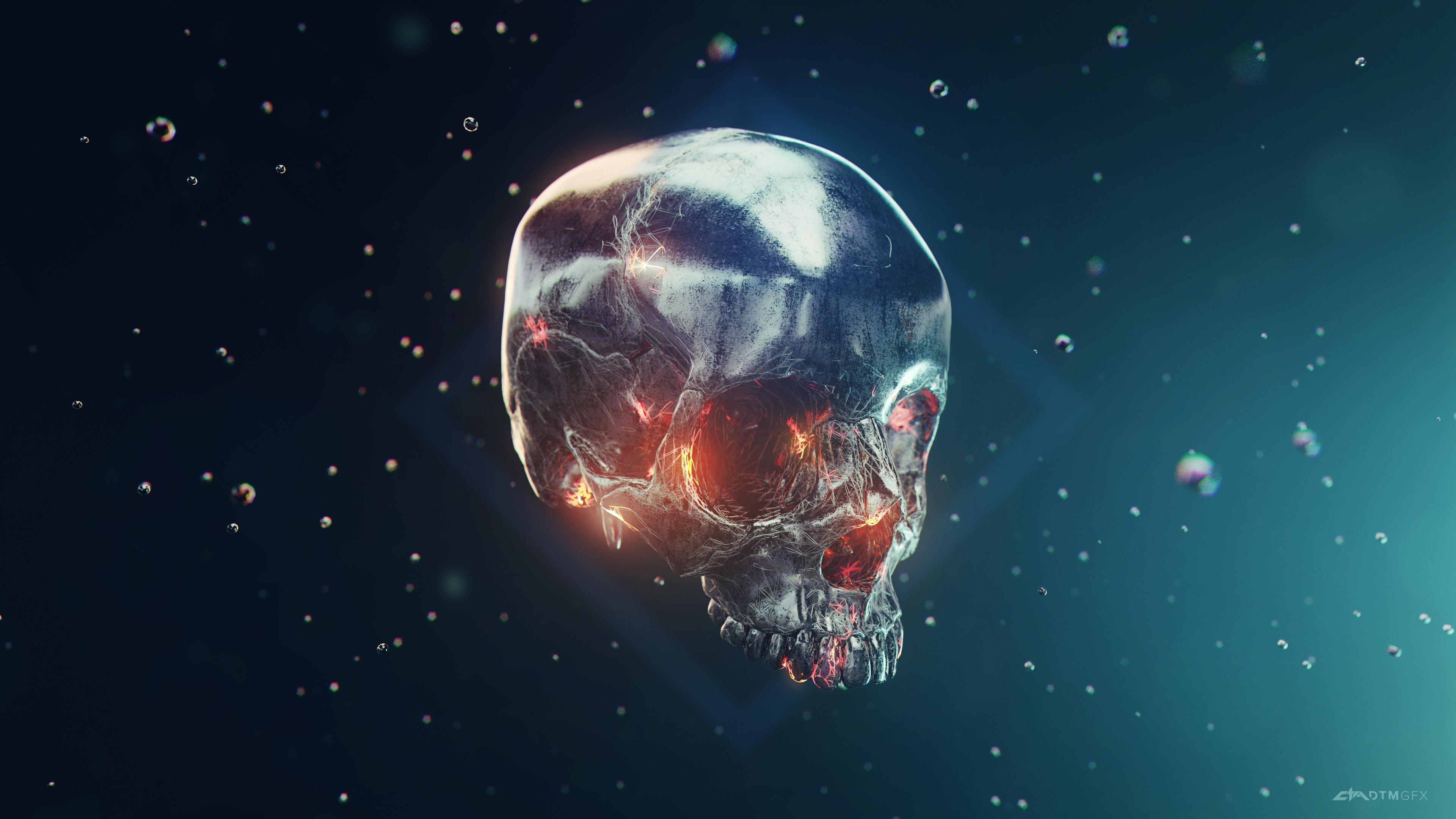 iron skull 4k 1540755834 - Iron Skull 4k - skull wallpapers, hd-wallpapers, digital art wallpapers, behance wallpapers, artwork wallpapers, artist wallpapers, 4k-wallpapers