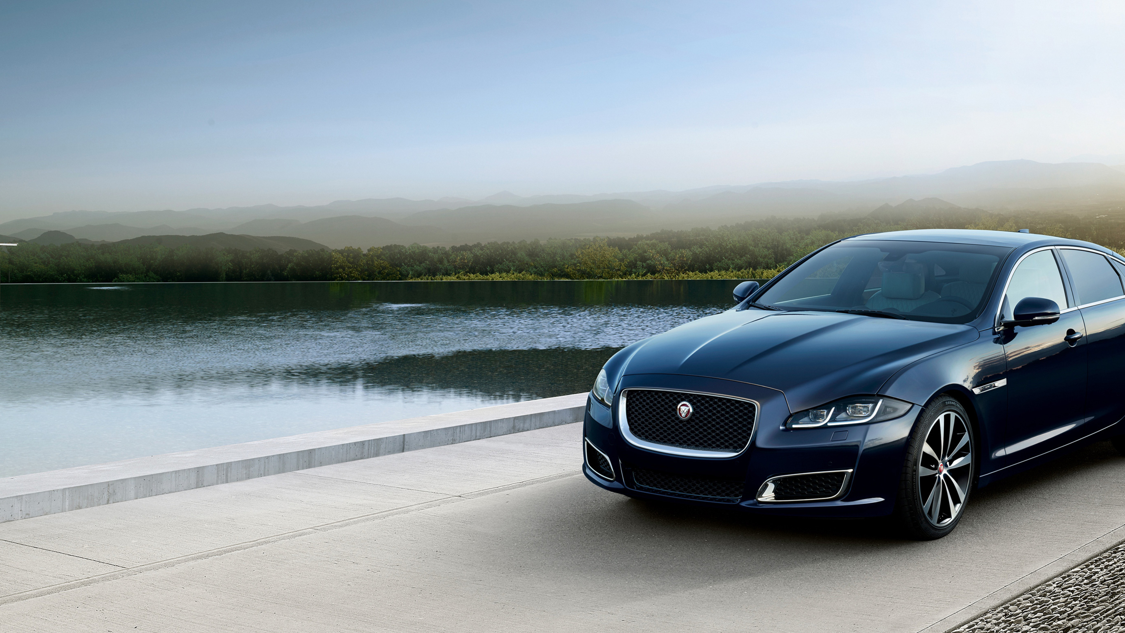 Wallpaper 4k Jaguar Xj50 Lwb 2018 Front 2018 Cars Wallpapers 4k