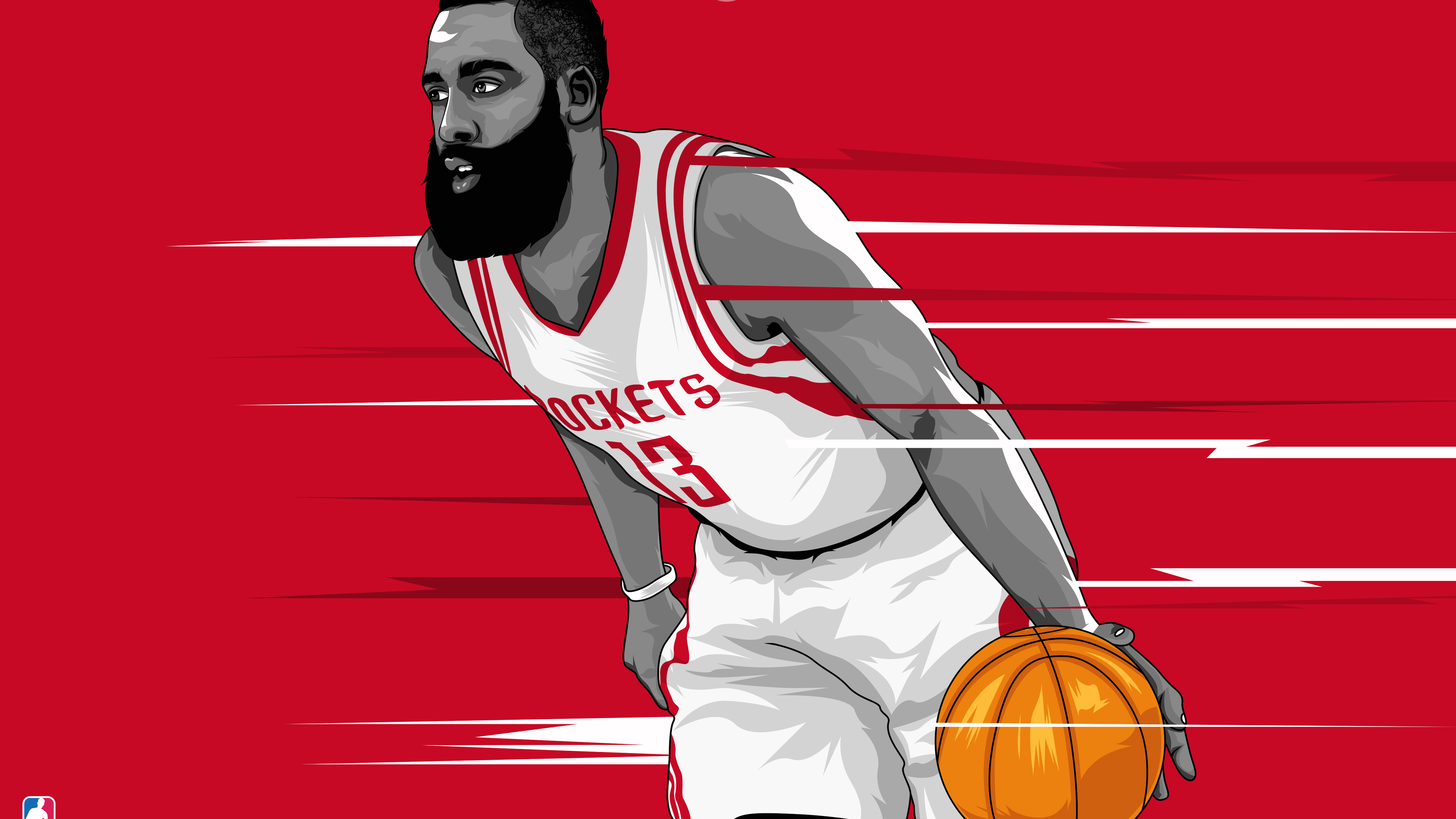 Wallpaper 4k James Harden Artwork 10k Wallpapers 12k