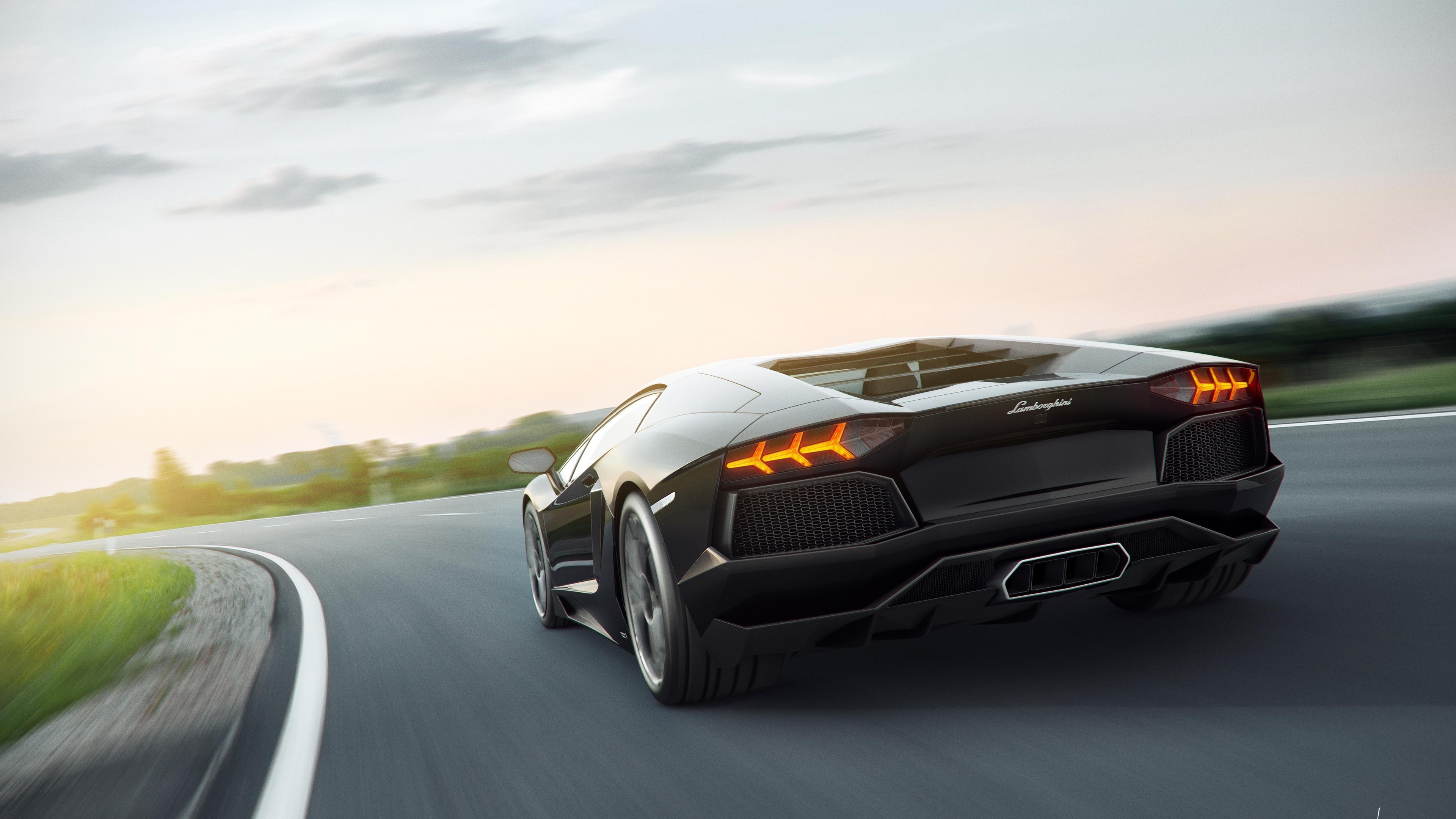 Lamborghini 8k Rear lamborghini wallpapers, hd-wallpapers ...