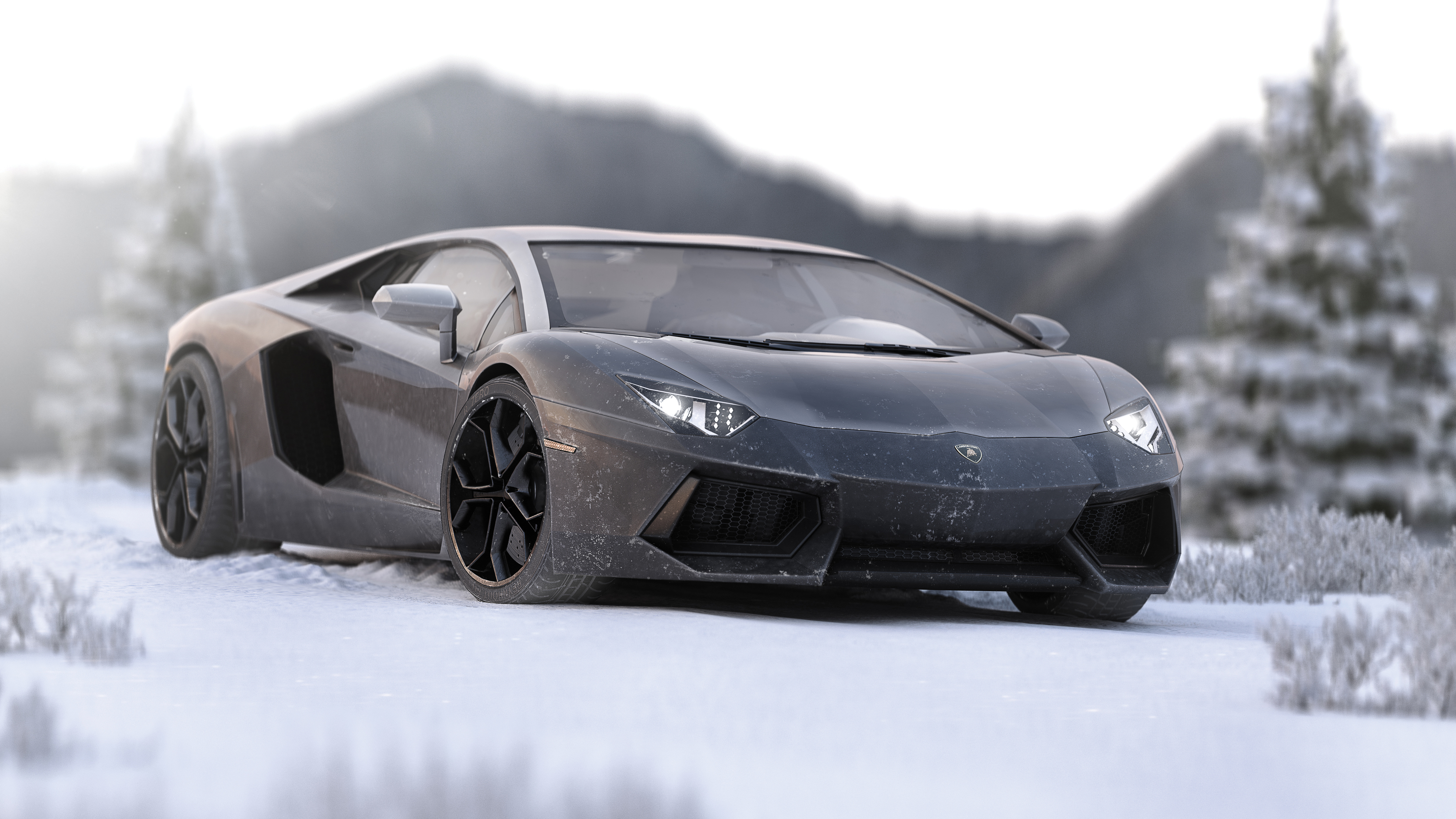 lamborghini aventador in ice 5k 1539792952 - Lamborghini Aventador In Ice 5k - lamborghini wallpapers, lamborghini aventador wallpapers, hd-wallpapers, cars wallpapers, 5k wallpapers, 4k-wallpapers