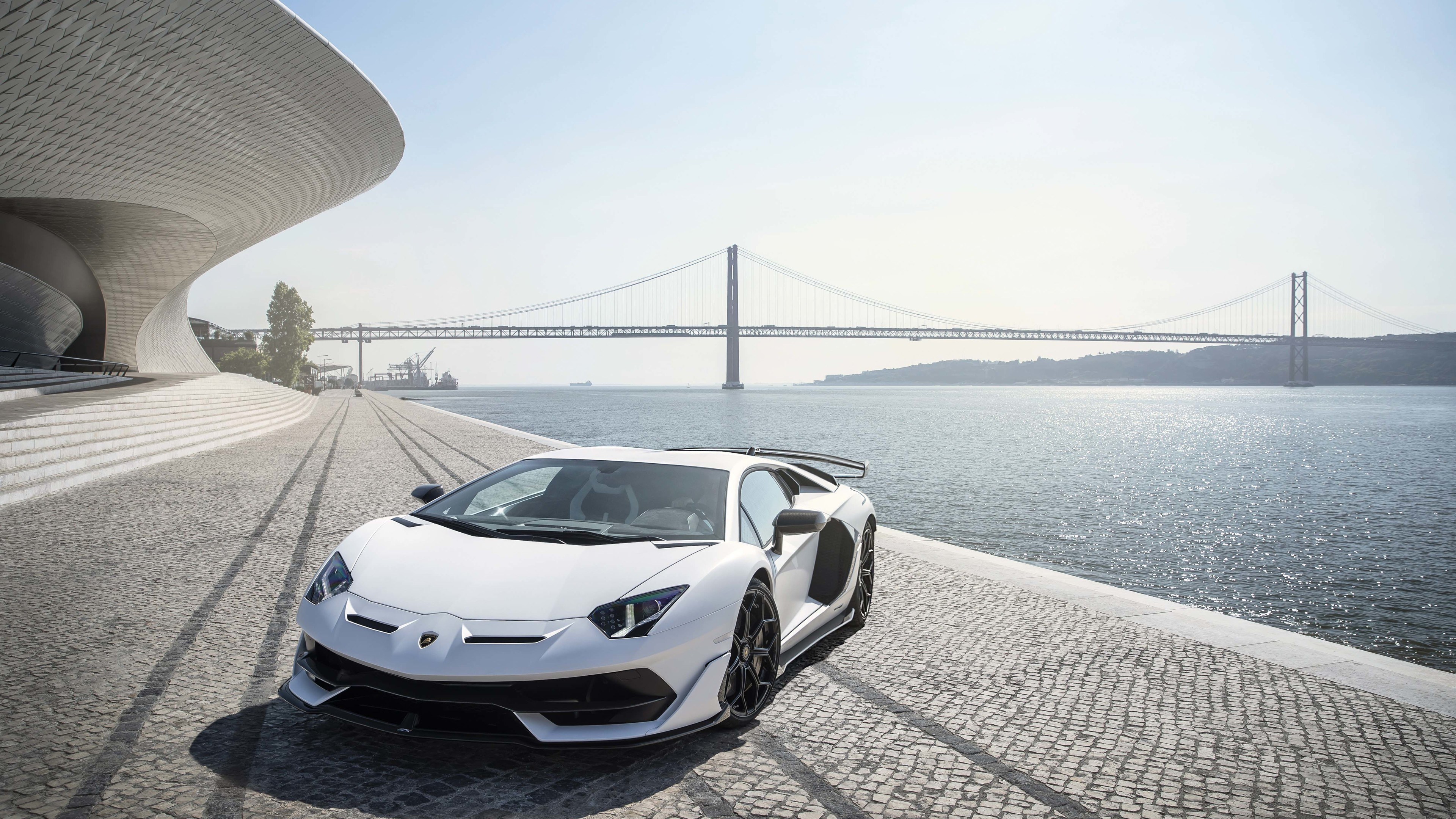 lamborghini aventador svj white lisbon 5k 1539792942 - Lamborghini Aventador SVJ White Lisbon 5k - lamborghini wallpapers, lamborghini aventador wallpapers, lamborghini aventador svj wallpapers, hd-wallpapers, cars wallpapers, 5k wallpapers, 4k-wallpapers, 2018 cars wallpapers