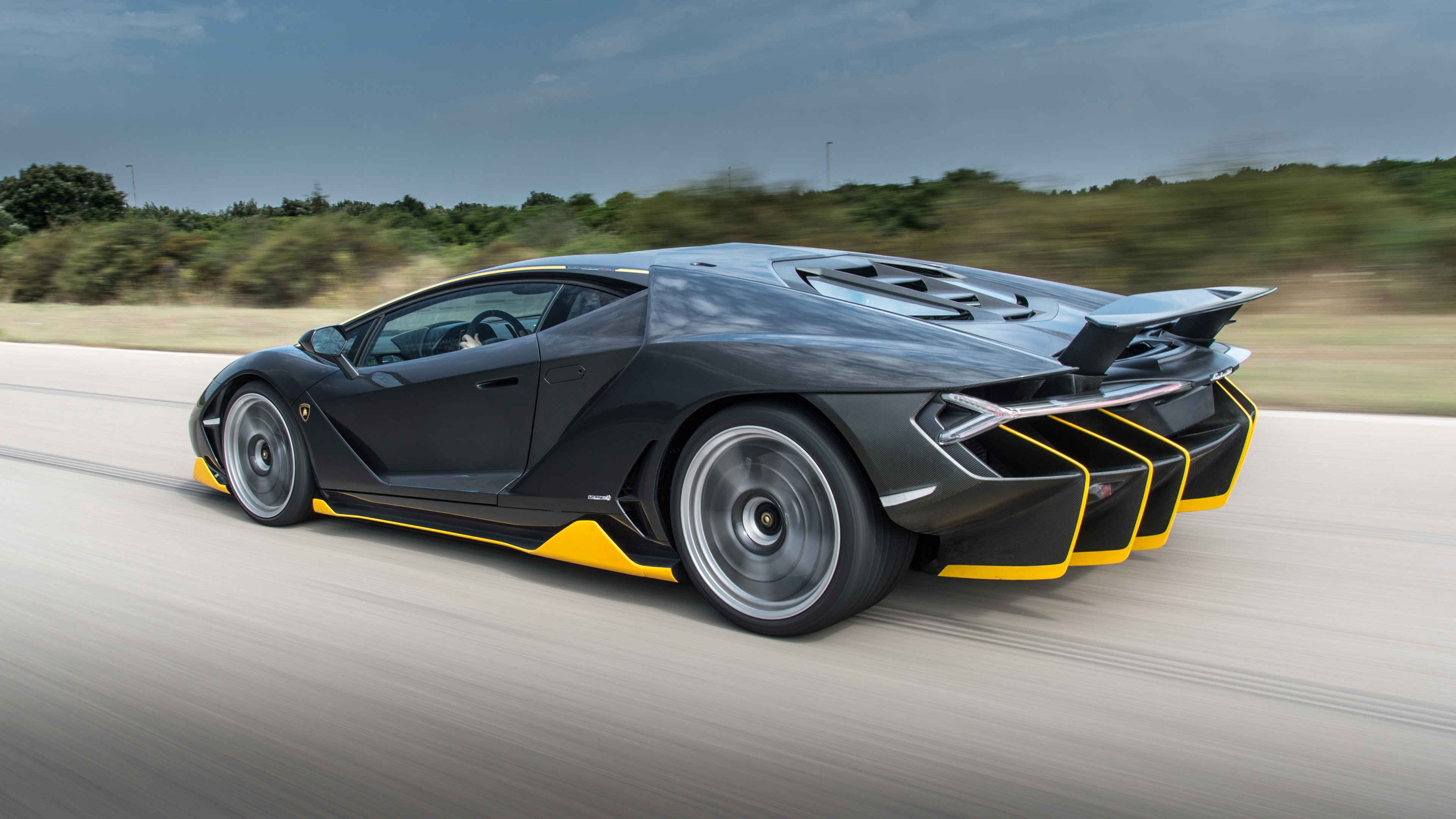 lamborghini centenario side view speed 4k 1538937117 - lamborghini, centenario, side view, speed 4k - side view, Lamborghini, Centenario