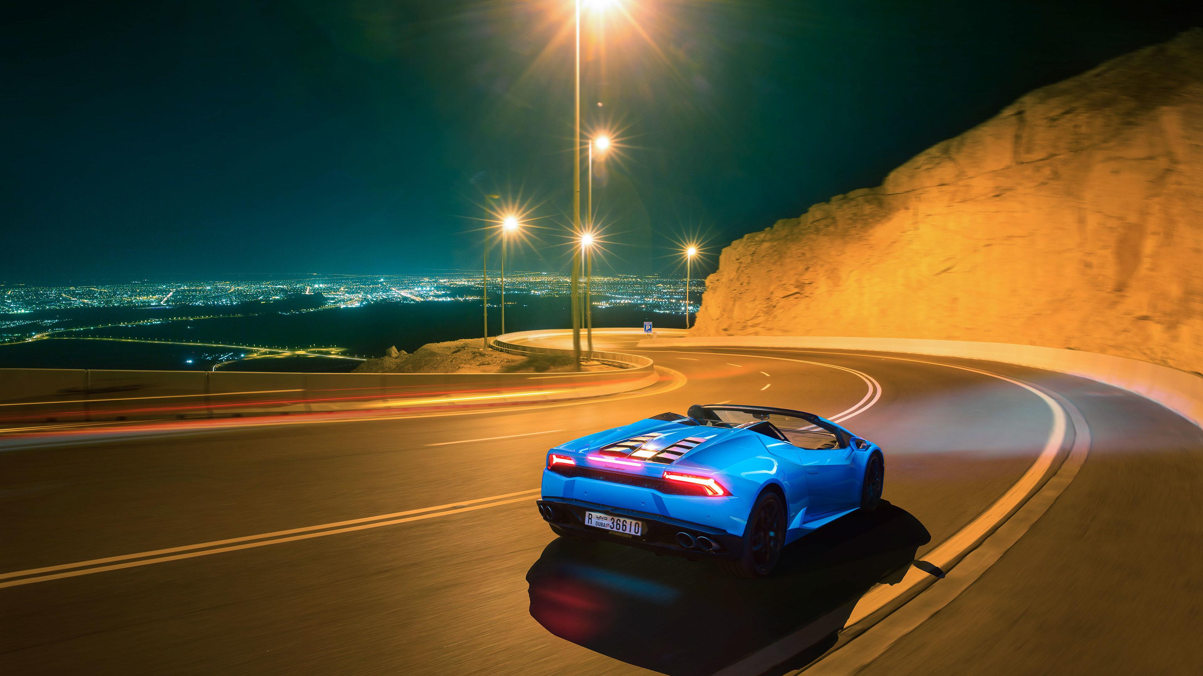 2048x2048 2018 Lamborghini Aventador Svj 4k Ipad Air Hd 4k: Lamborghini Huracan LP 610 4 Spyder 2018 Rear View