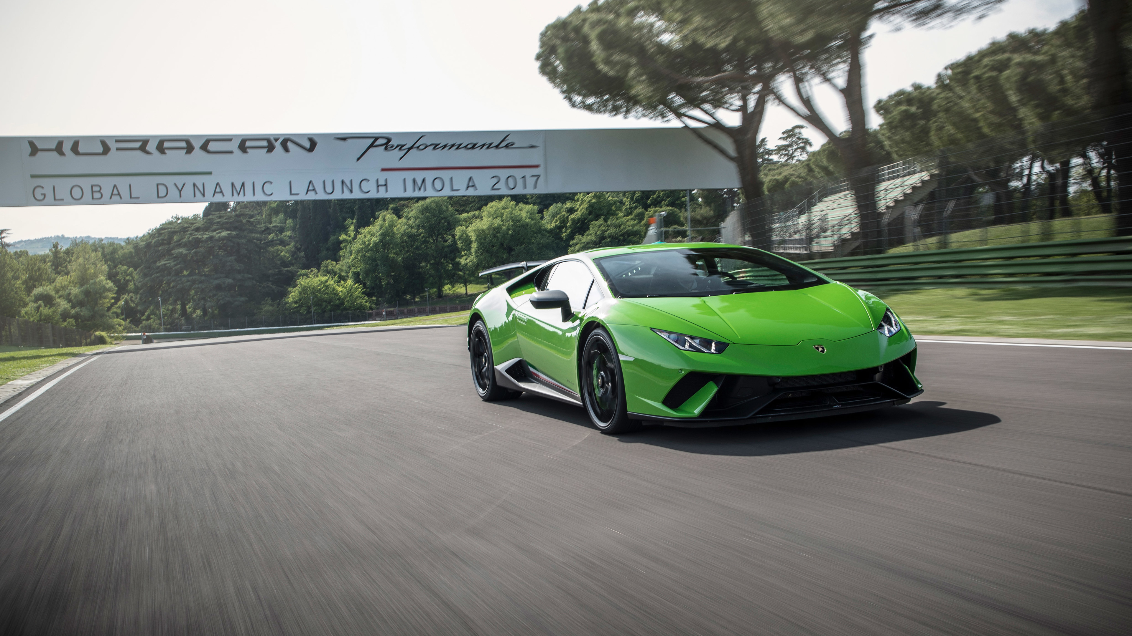 Wallpaper 4k Lamborghini Huracan Performante Super Car 2018 Cars