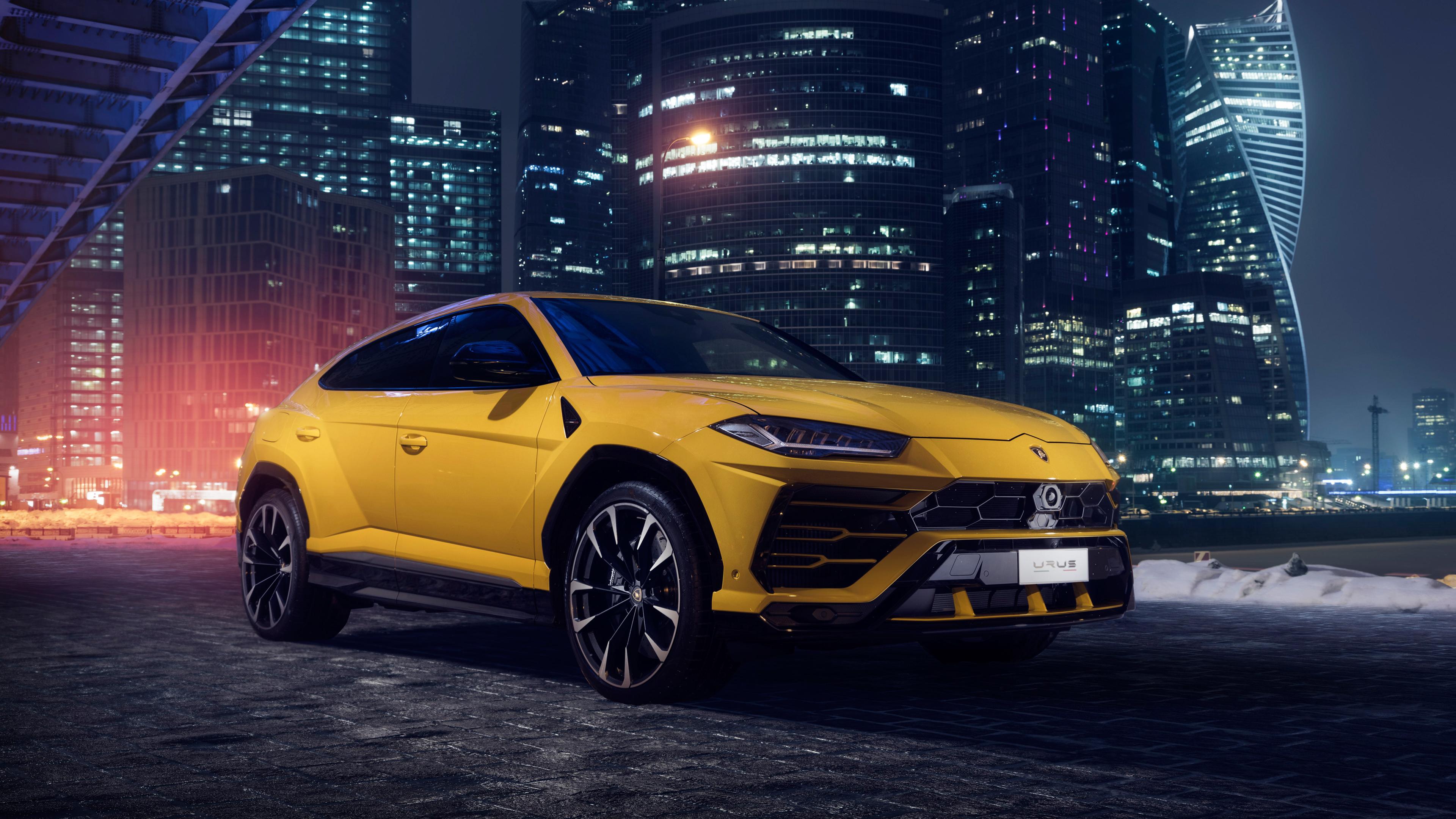 Lamborghini Urus 4k 2018 suv wallpapers, lamborghini ...