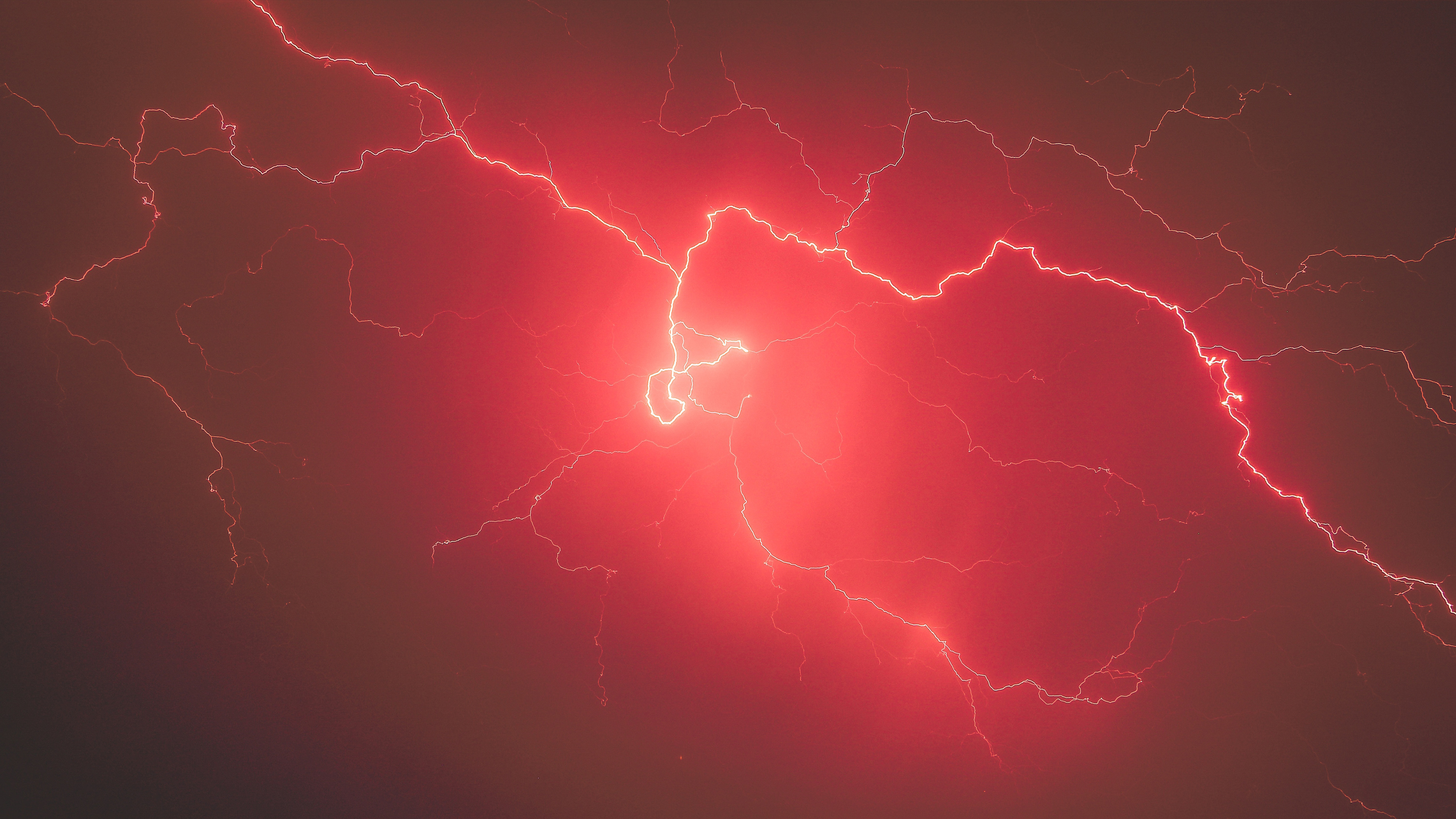 lightning storm red sky 4k 1540139473 - Lightning Storm Red Sky 4k - storm wallpapers, sky wallpapers, red wallpapers, nature wallpapers, lightning wallpapers, hd-wallpapers, 5k wallpapers, 4k-wallpapers