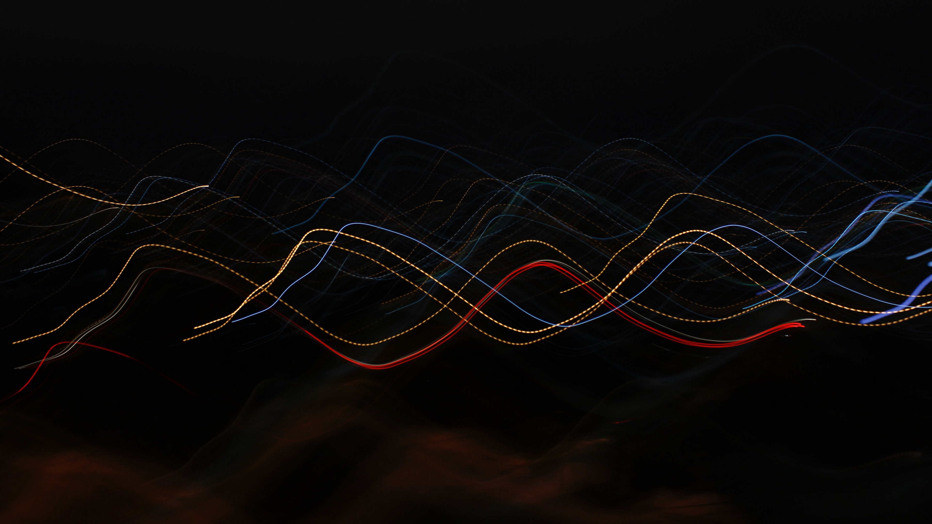 lines intermittent wavy 4k 1539369753 - lines, intermittent, wavy 4k - wavy, Lines, intermittent