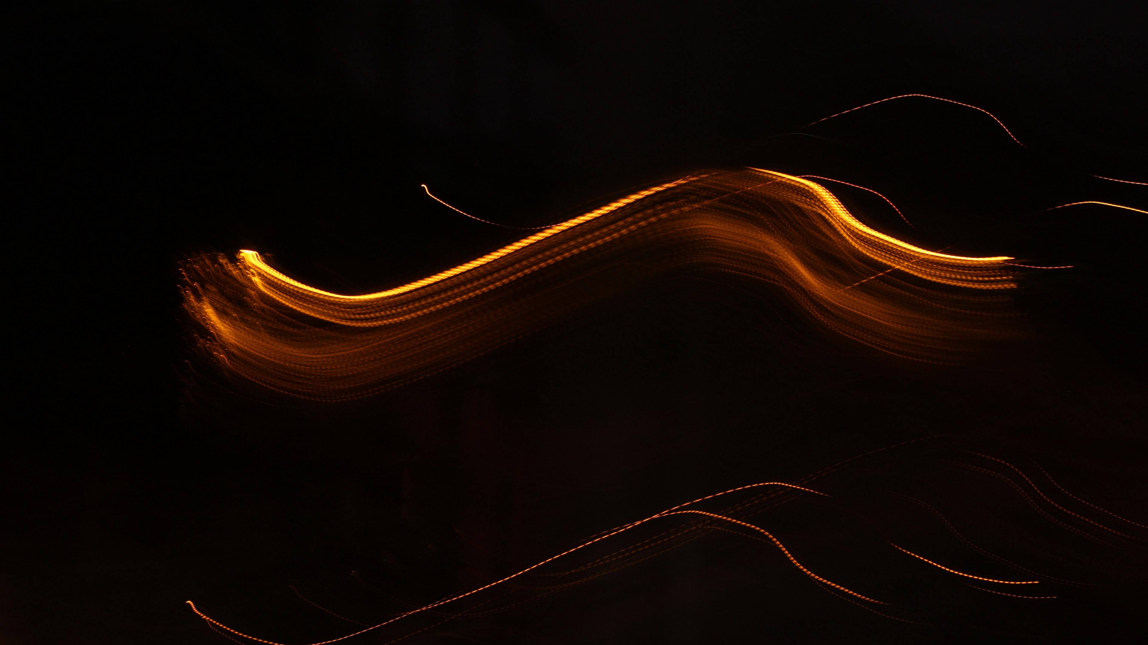 lines wavy intermittent dark background 4k 1539369755 - lines, wavy, intermittent, dark background 4k - wavy, Lines, intermittent