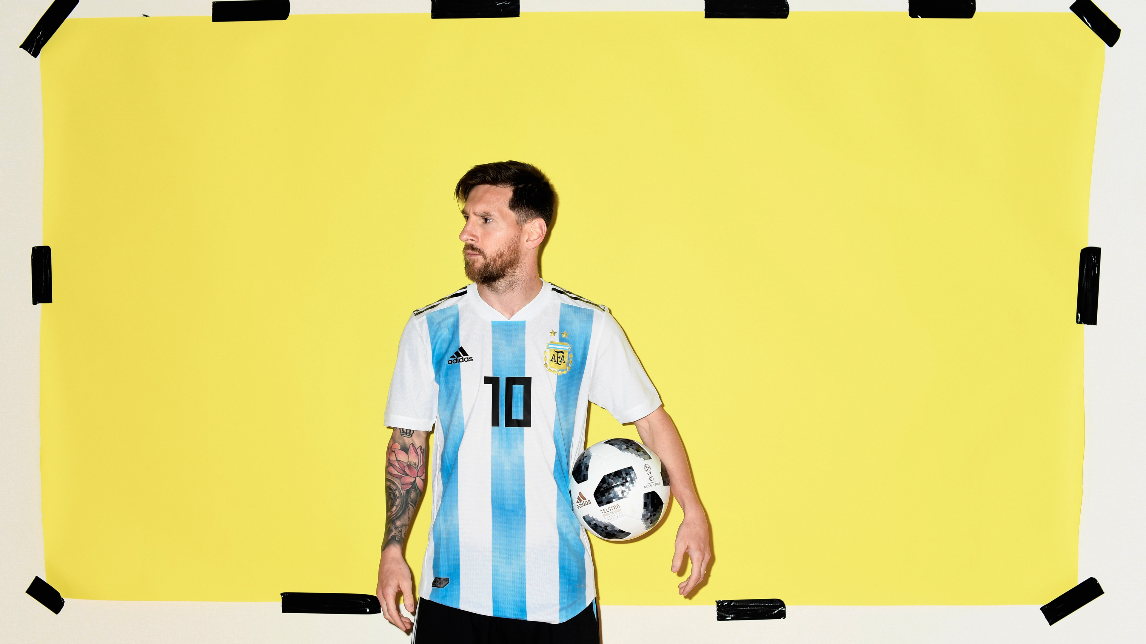 lionel messi argentina portrait 2018 1538786890 - Lionel Messi Argentina Portrait 2018 - sports wallpapers, male celebrities wallpapers, Lionel Messi wallpapers, hd-wallpapers, football wallpapers, fifa world cup russia wallpapers, boys wallpapers, 5k wallpapers, 4k-wallpapers